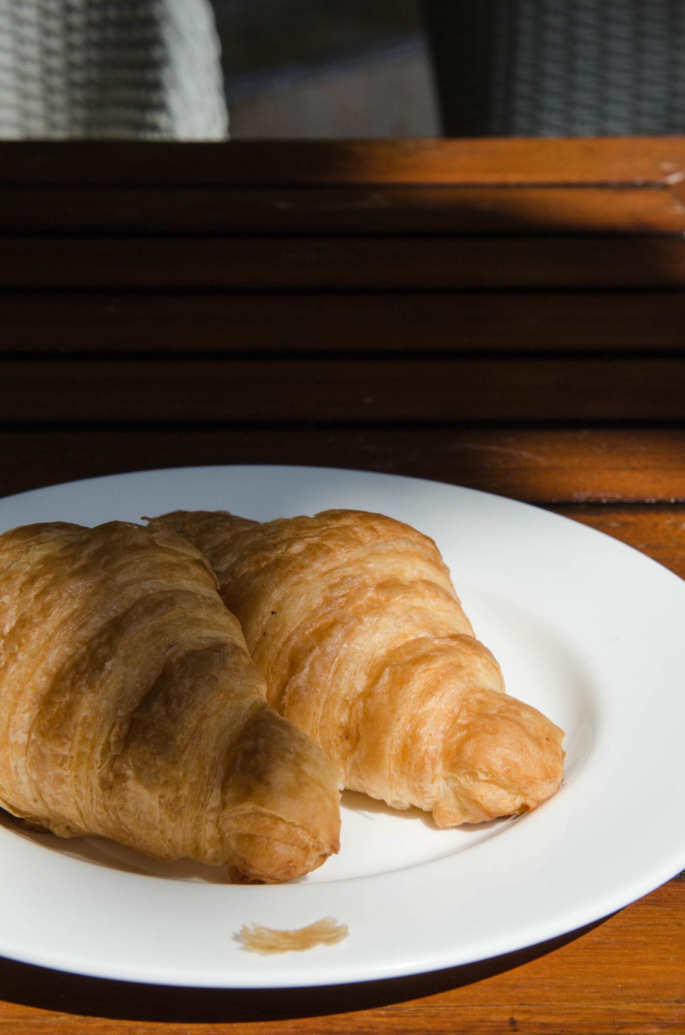 Croissants zum Frühstück