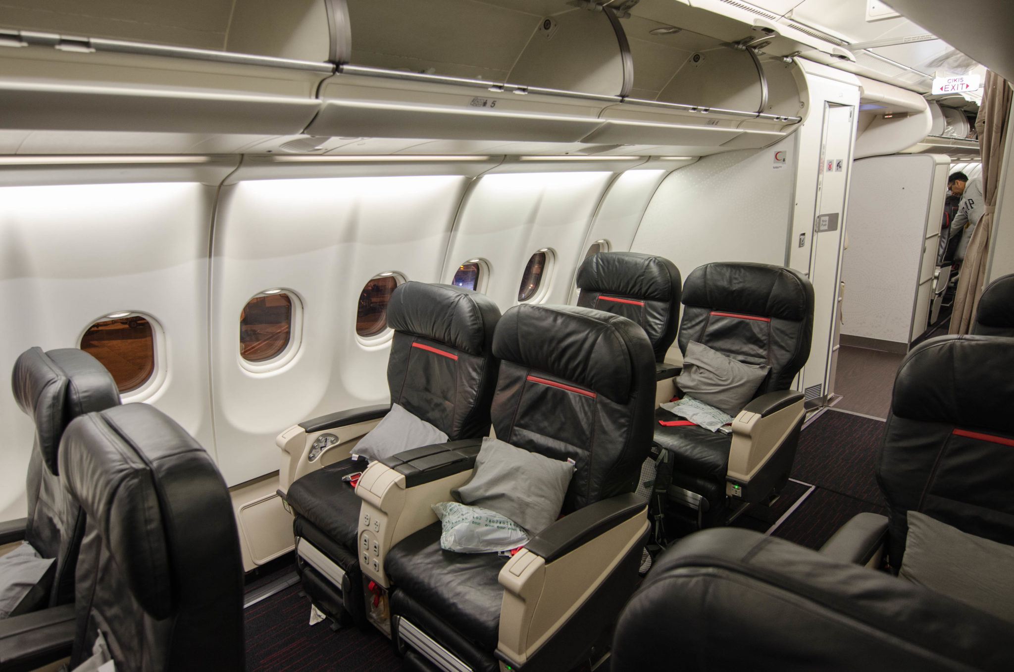 Turkish Airlines Business Class im Airbus A330-300