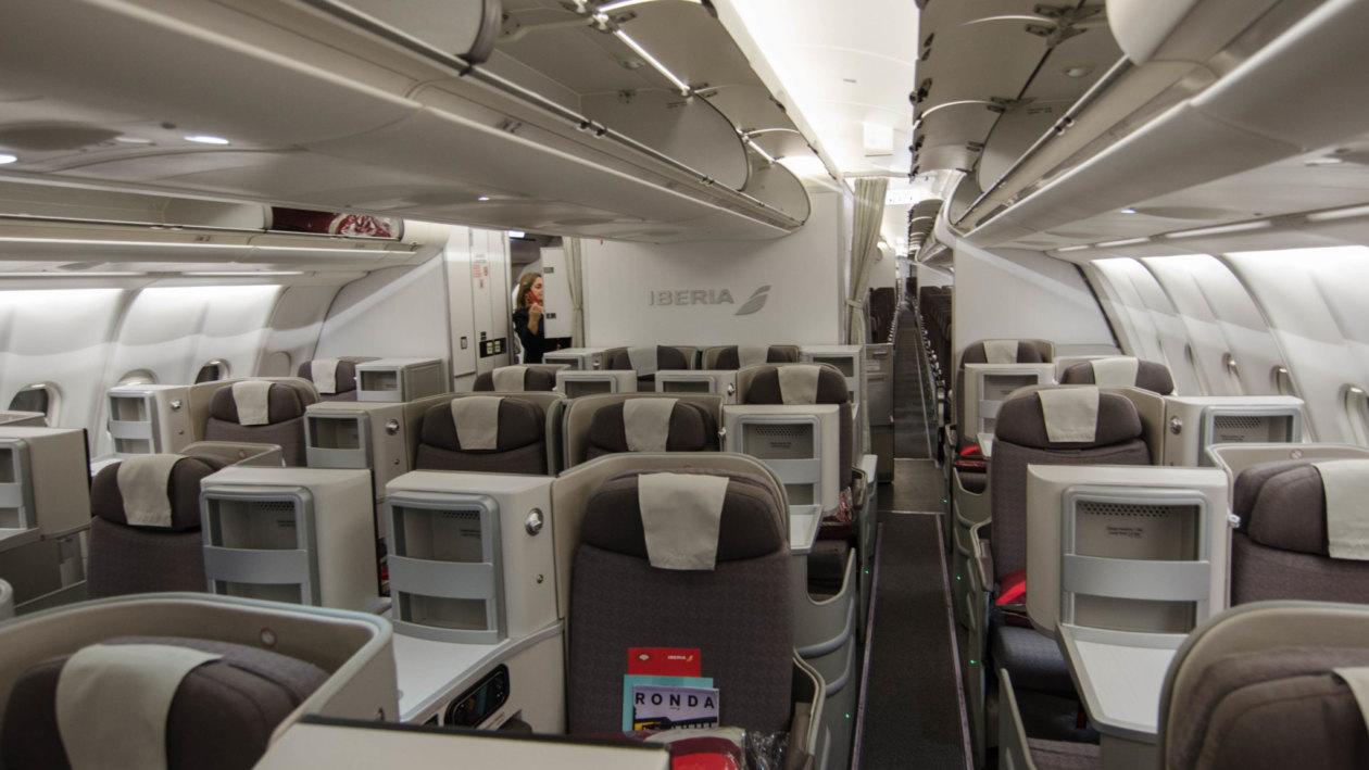 Iberia Business Class Airbus A330