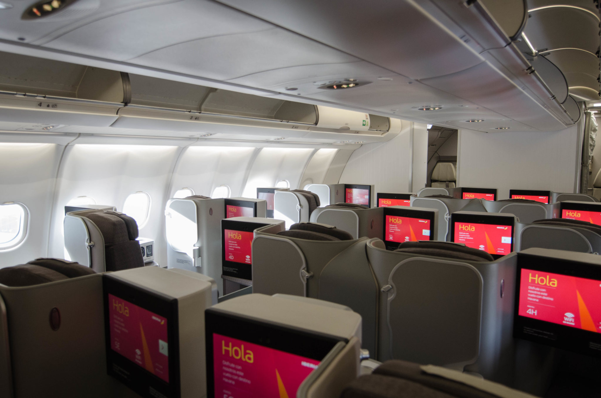 Iberia Business Class Langstrecke A330