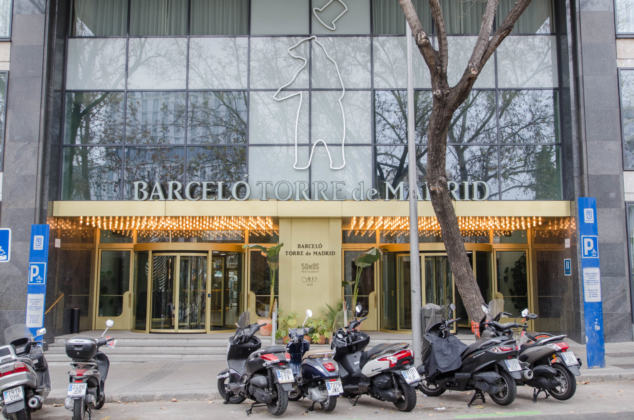 Barcelo Torre de Madrid Review: Eingangsbereich