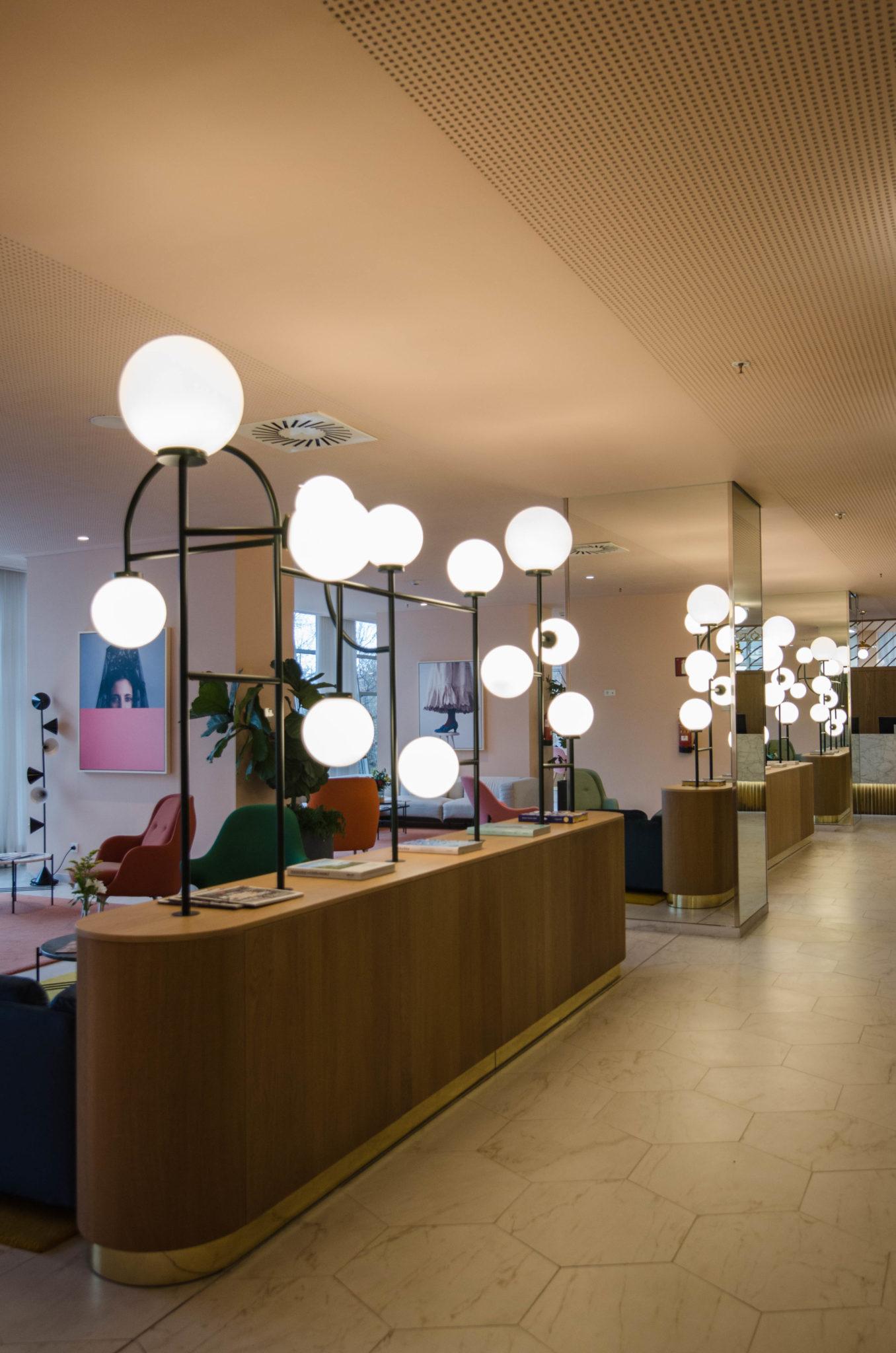 Barcelo Torre de Madrid Review: Lobby