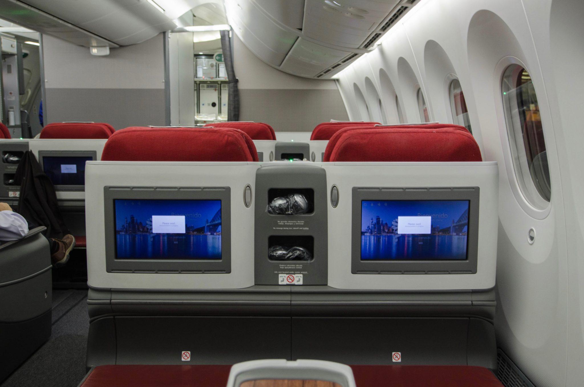 LATAM Business Class Boeing 787-9: Erfahrungsbericht