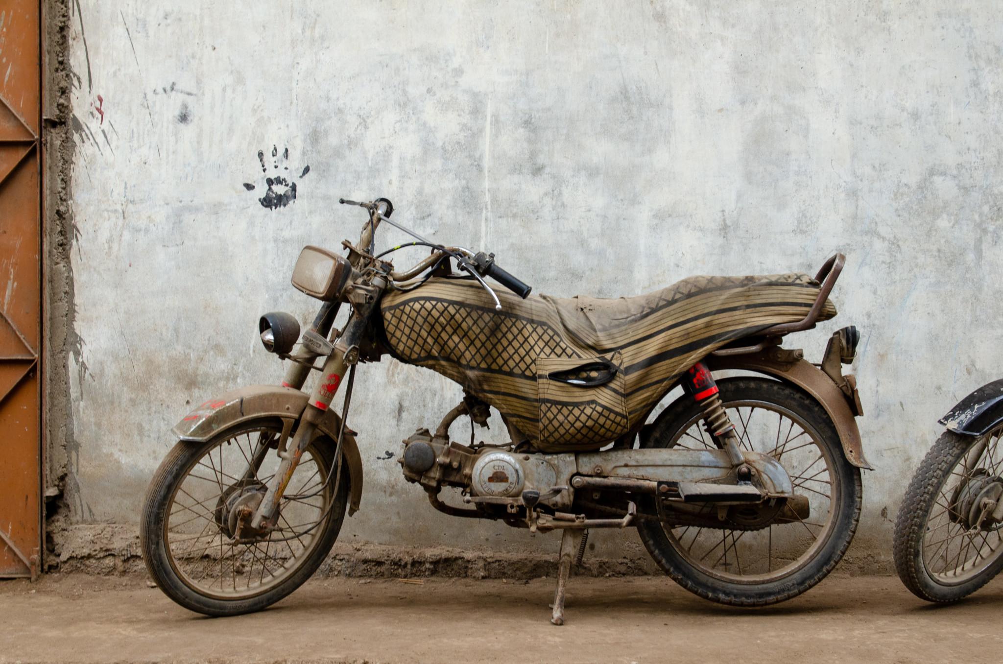 Motorrad in Karatschi