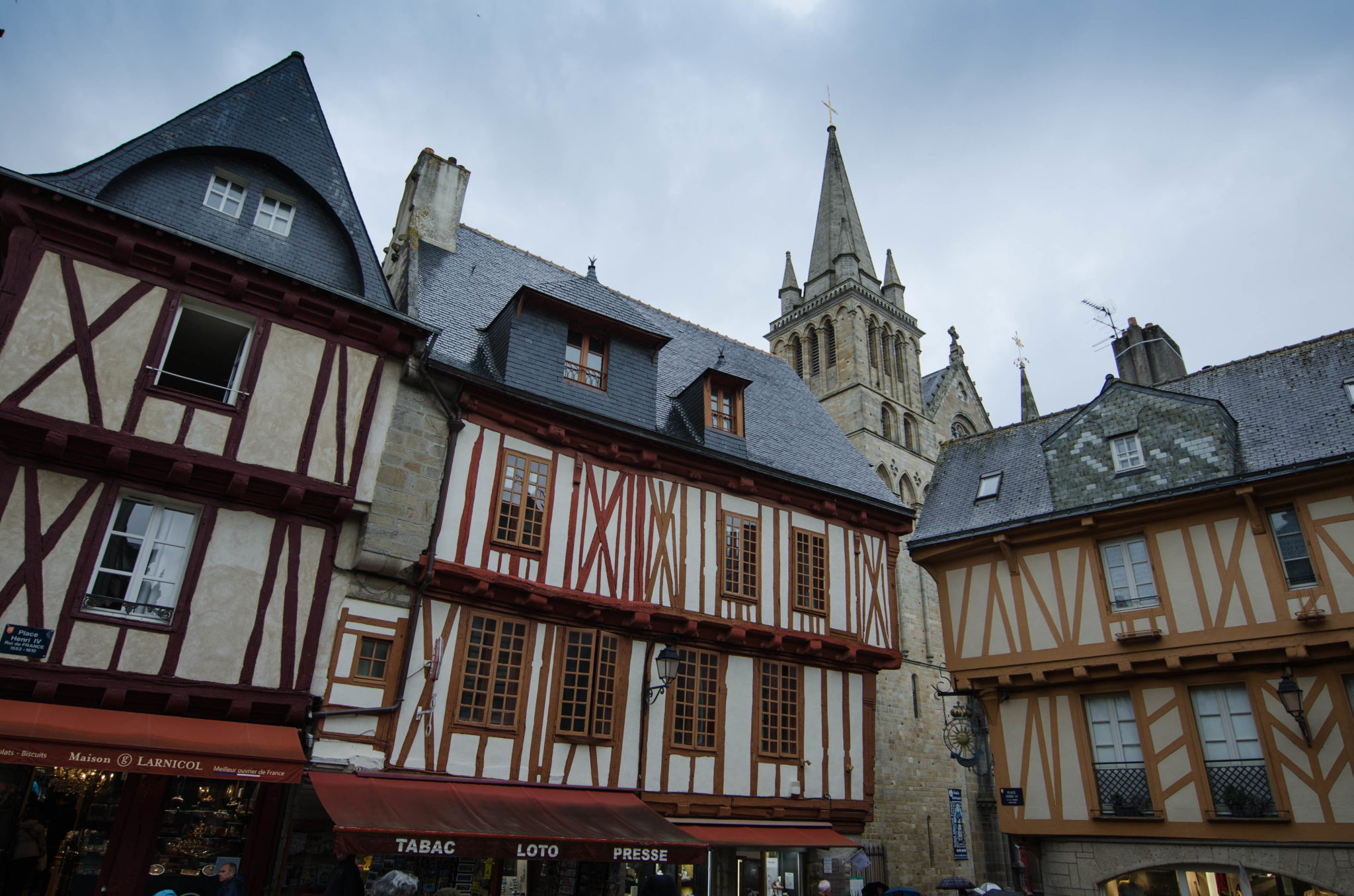 Bretagne Tipps: Die Fachwerkhäuser in Vannes