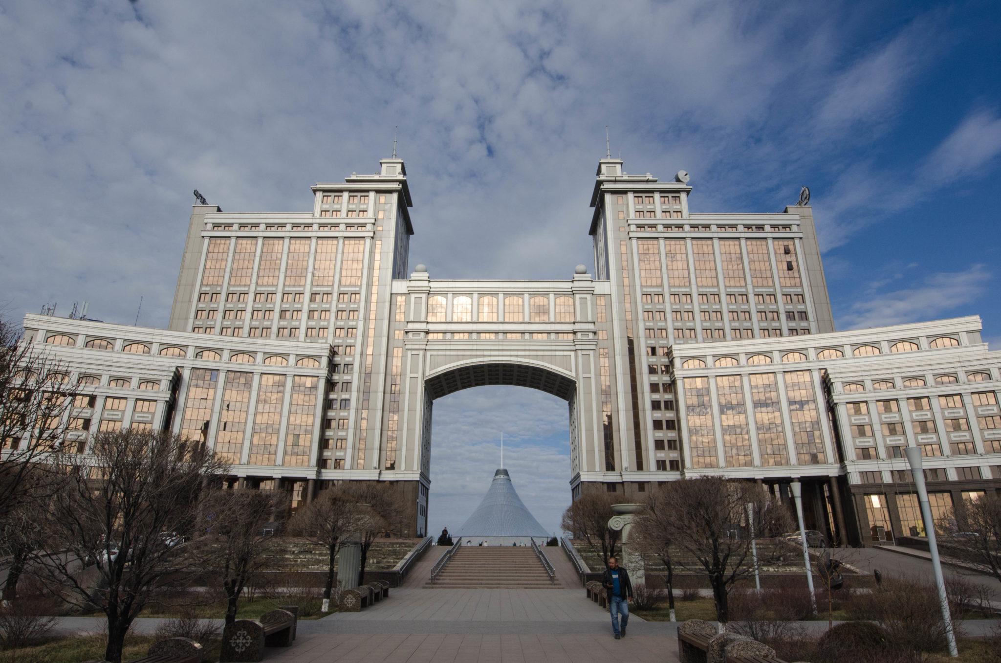KazMunayGas Gebäude in Astana Kasachstan