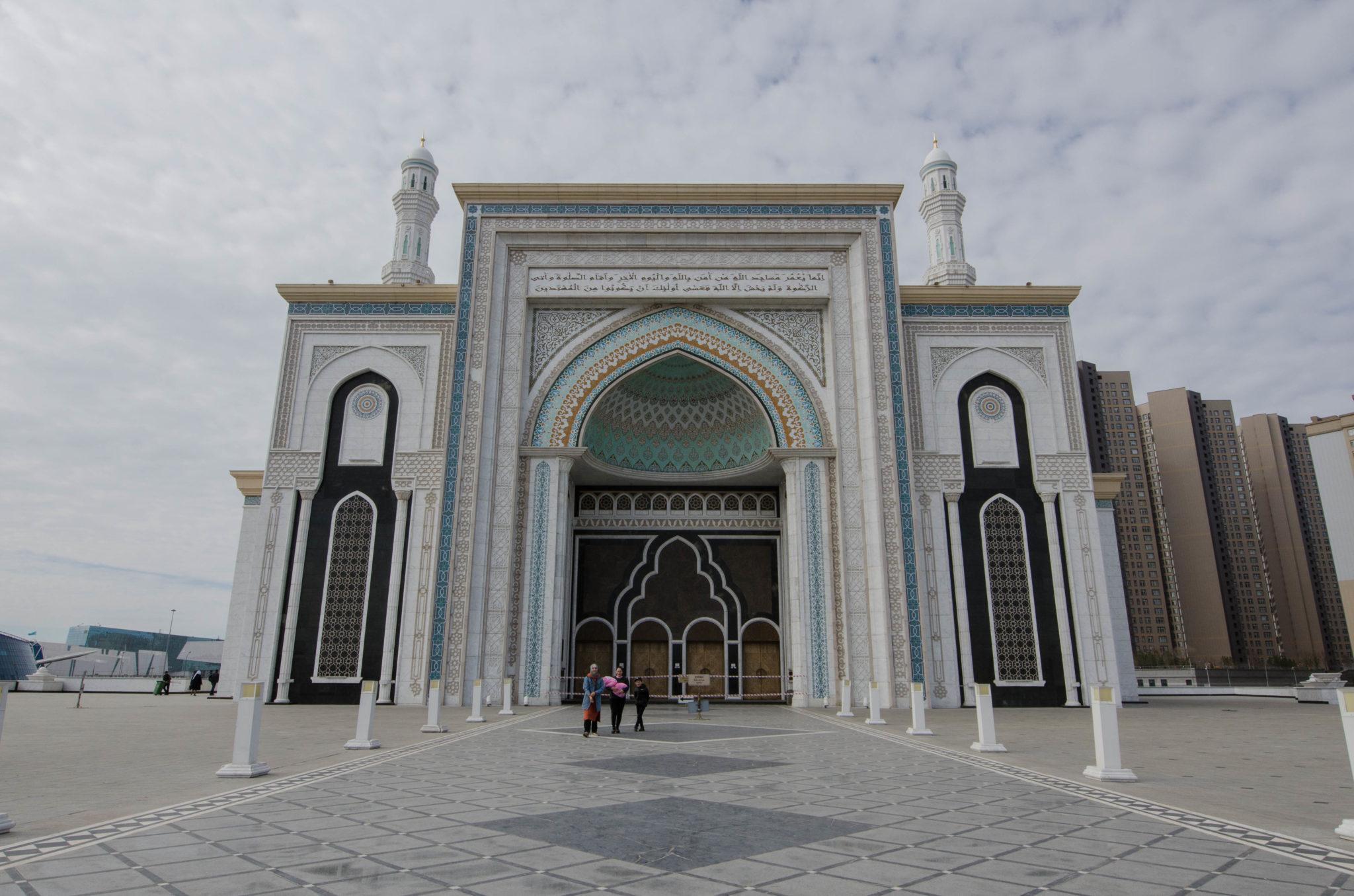 Die Hazrat Sultan Moschee ist ein wichtiges Gotteshaus