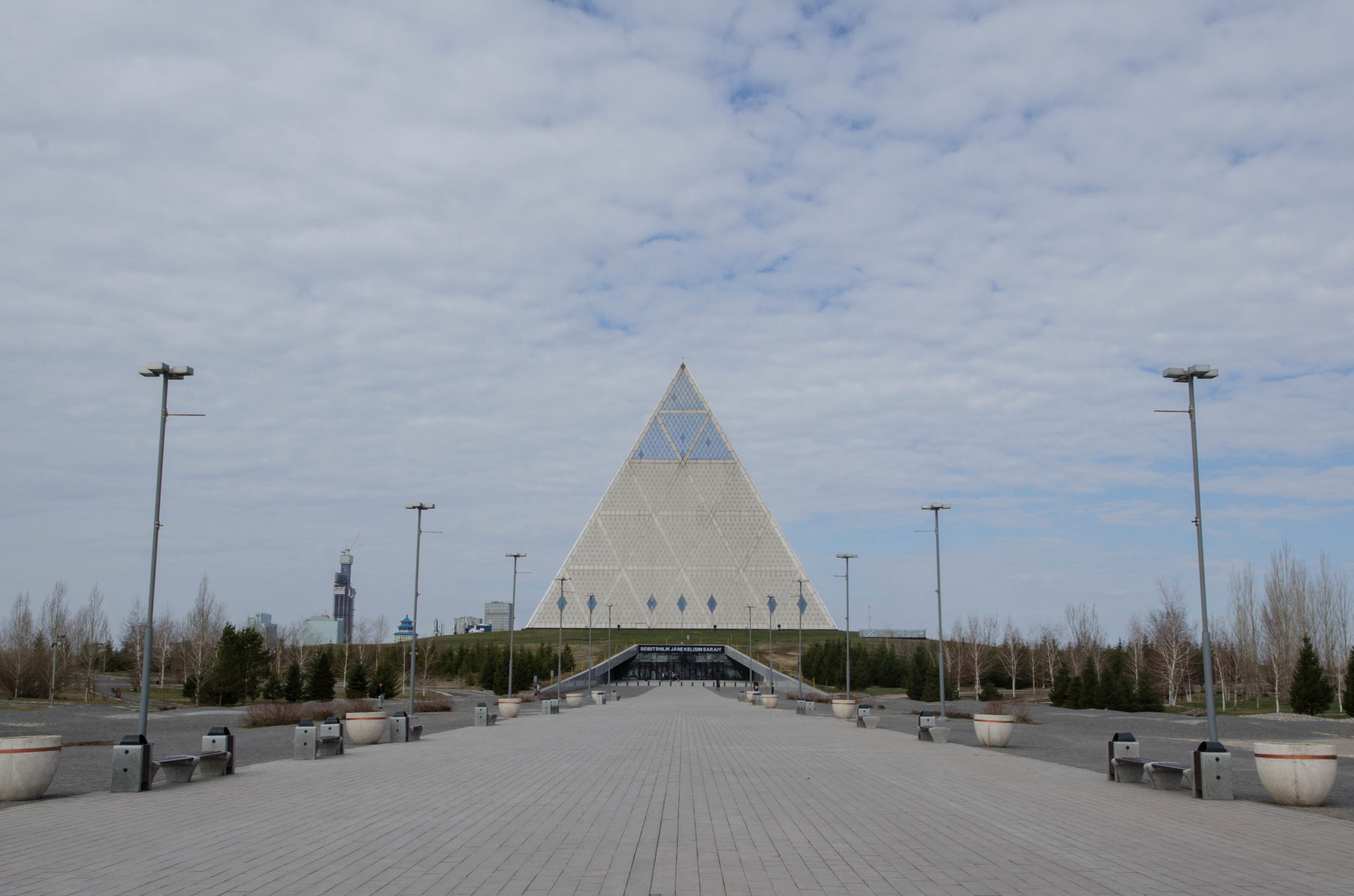 Die Pyramide des Friedens und der Eintracht in Astana