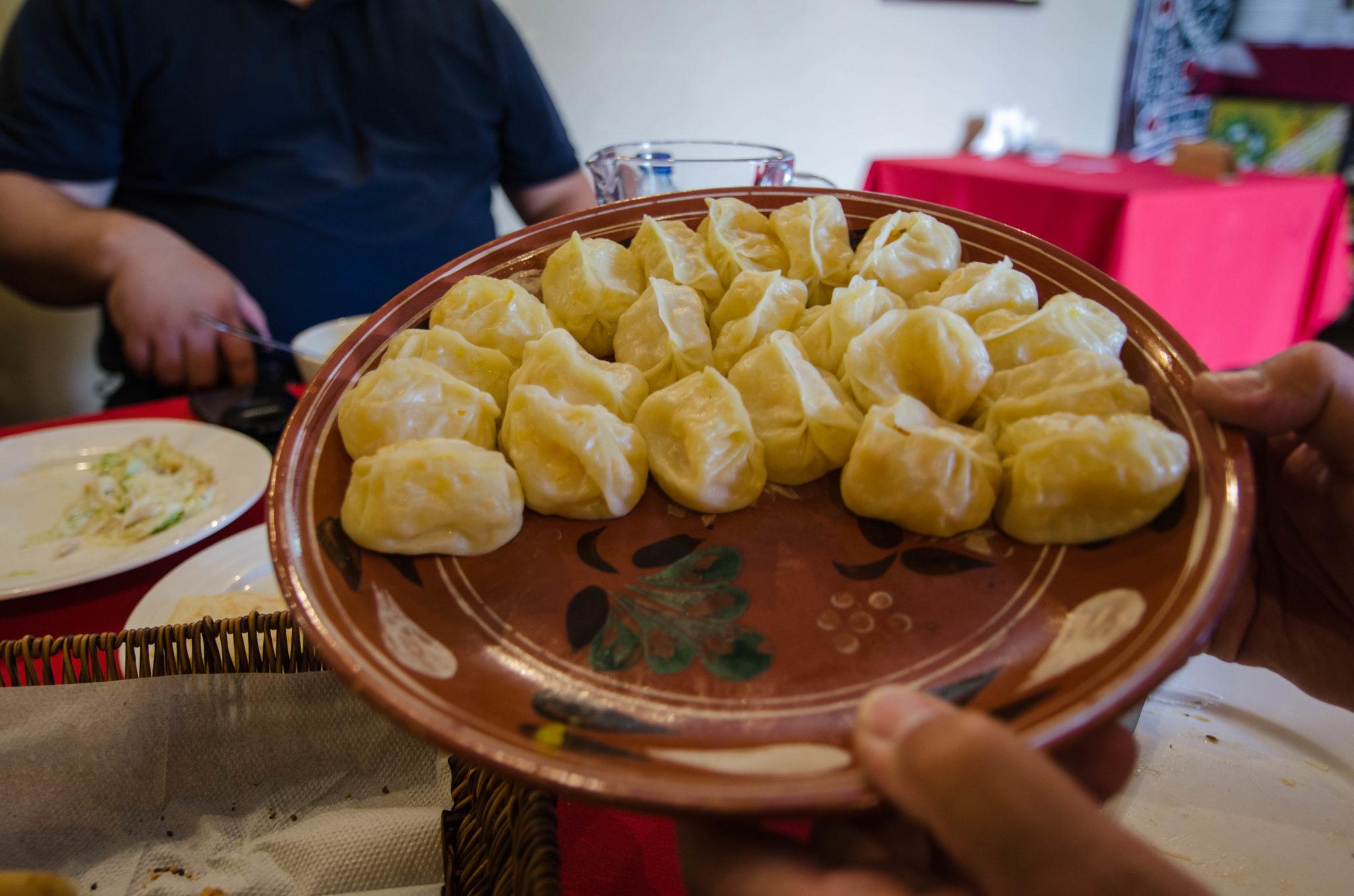 Das Essen in Usbekistan ist deftig