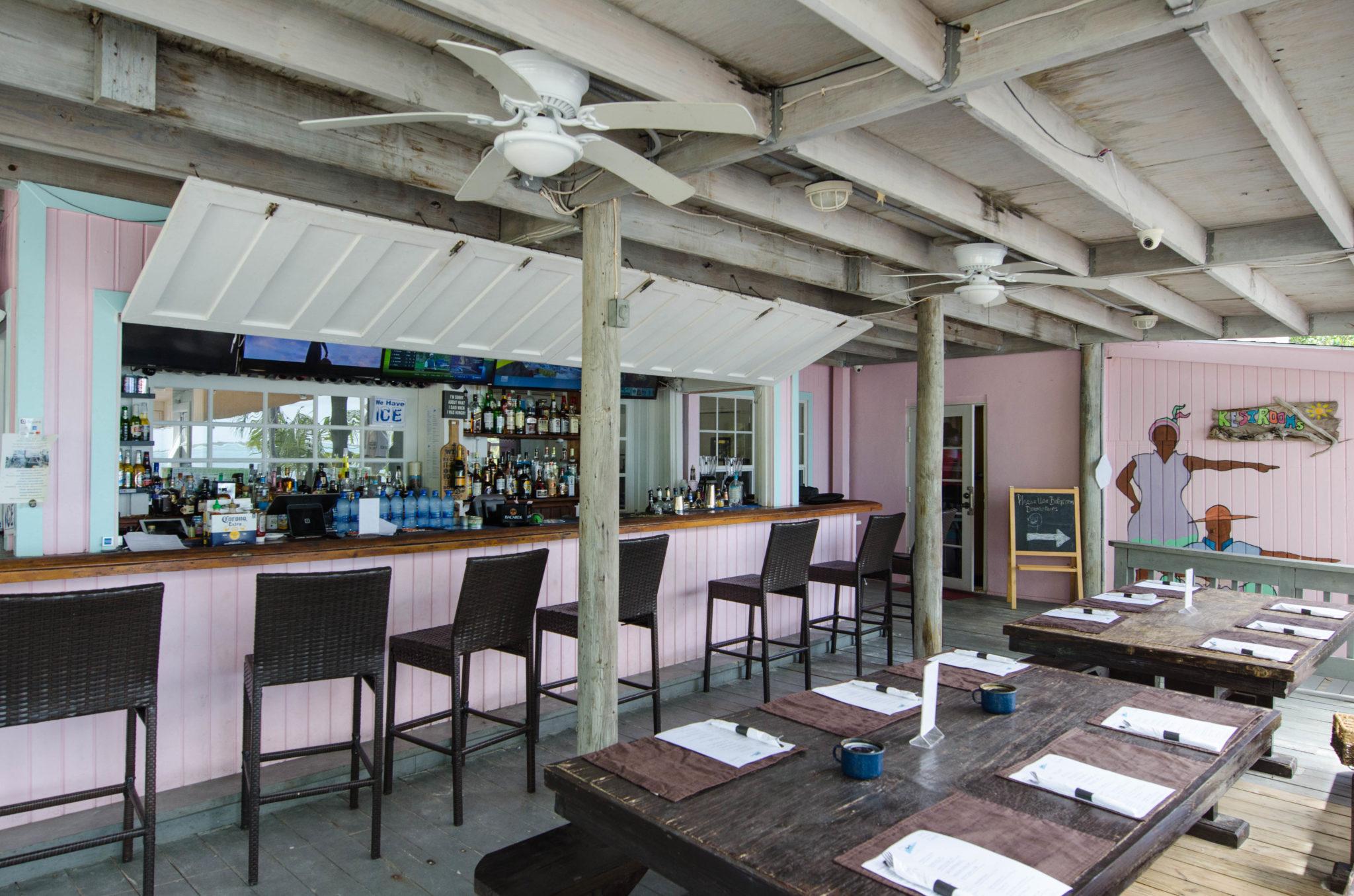 Frigate's Restaurant auf Eleuthera