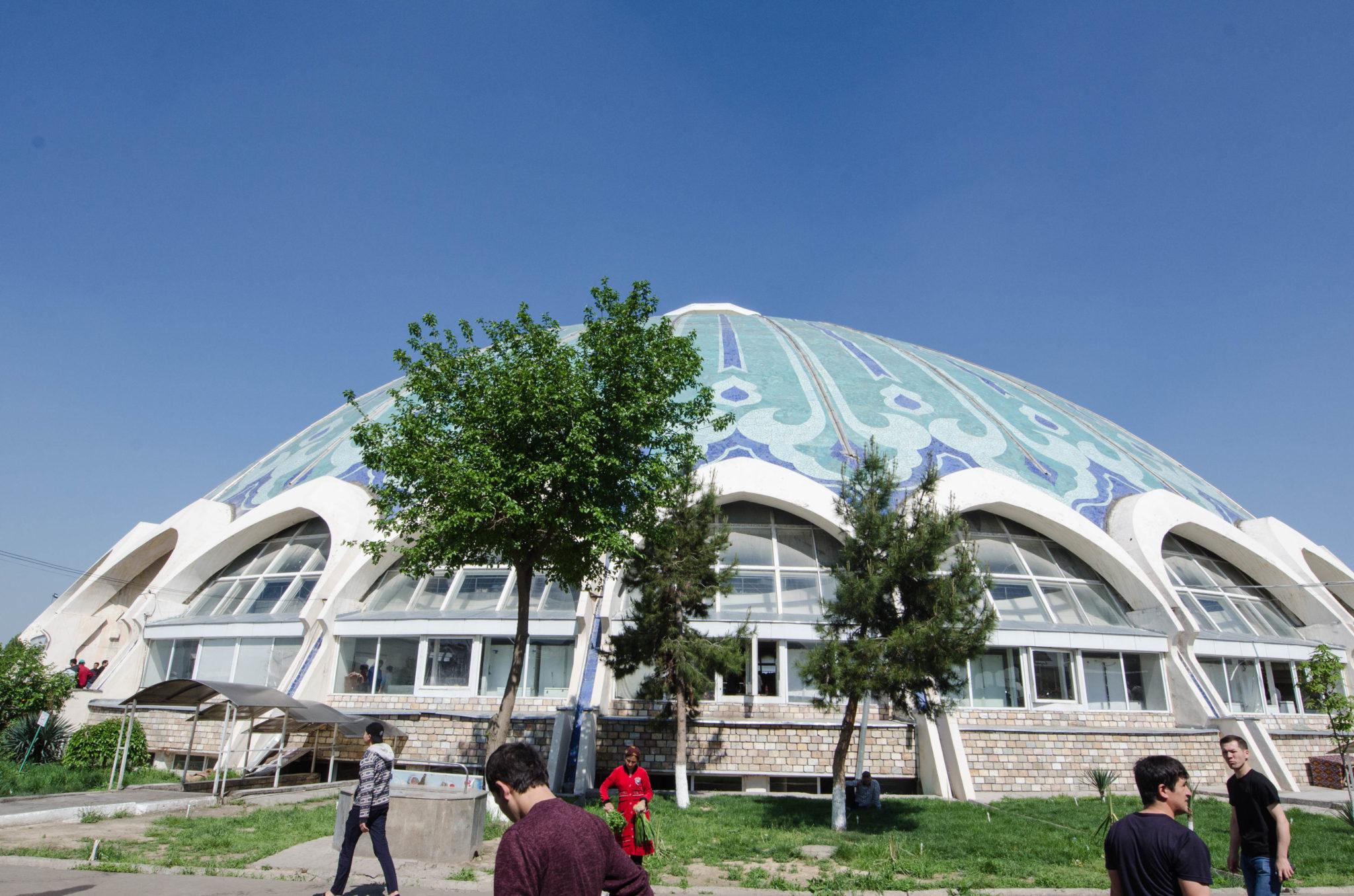 Teleshayakh Moschee: Chorsu Basar