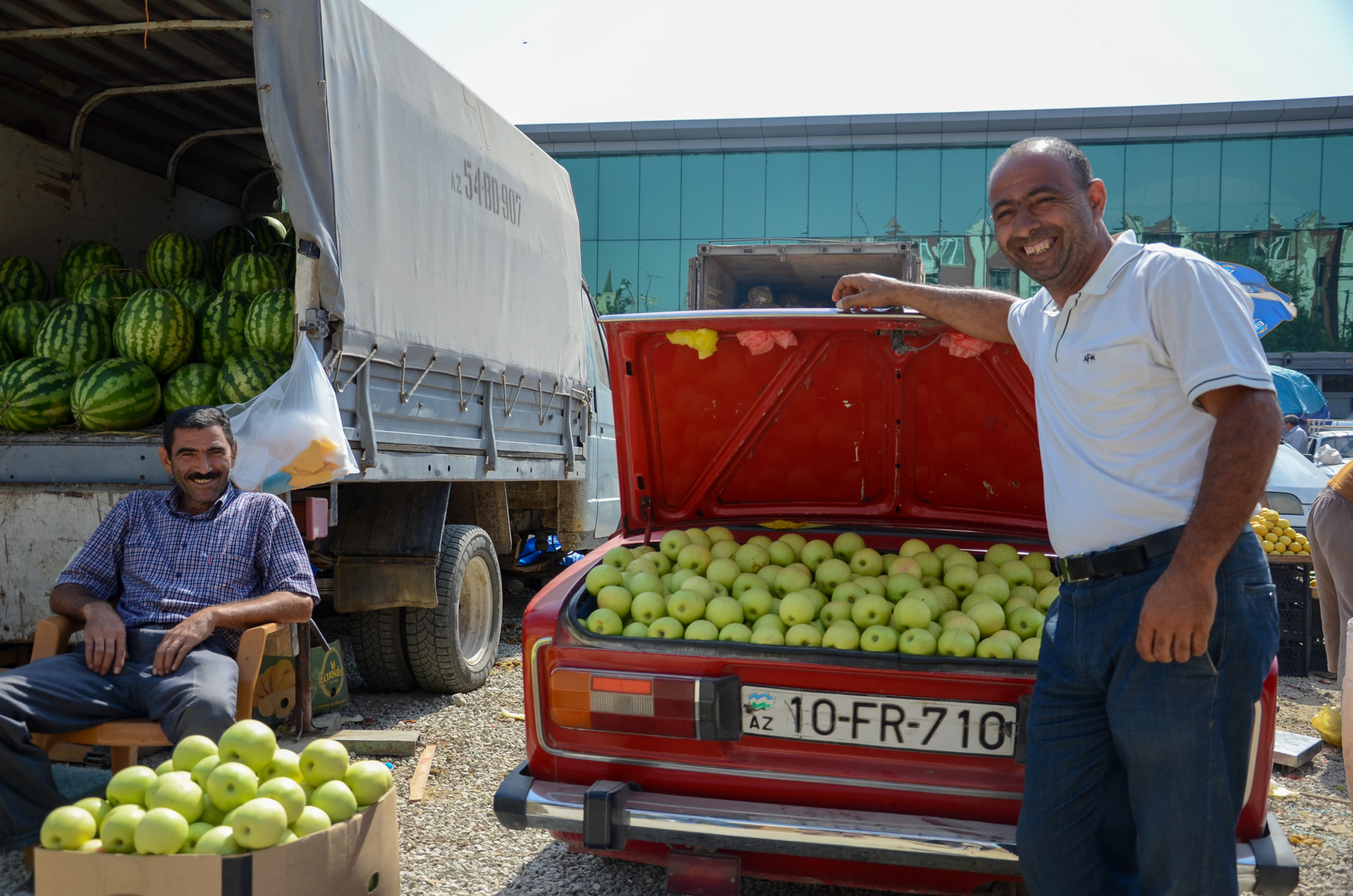 Äpfel sind ein großes Exportgut