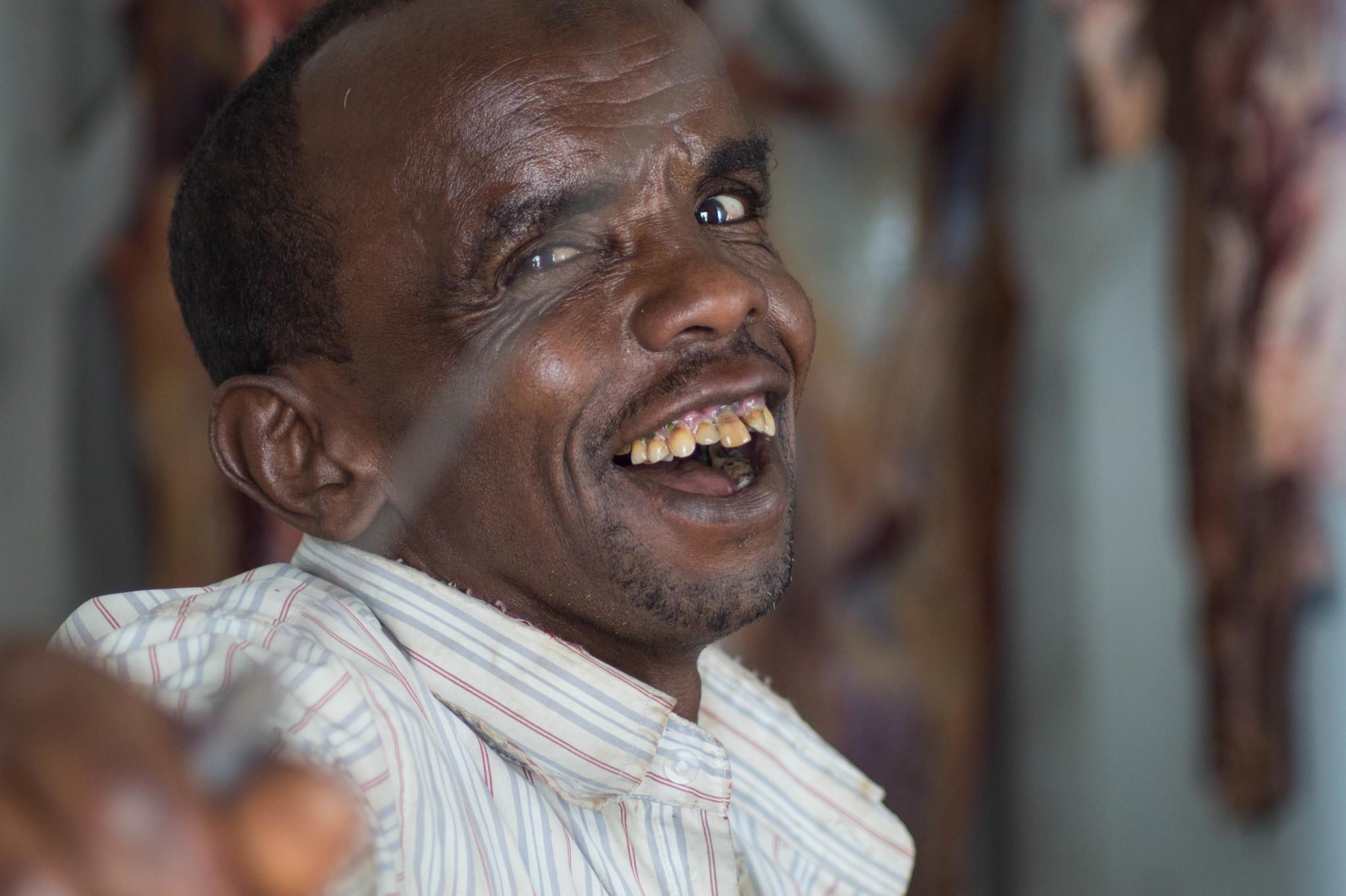 Fleischer in Harar Äthiopien