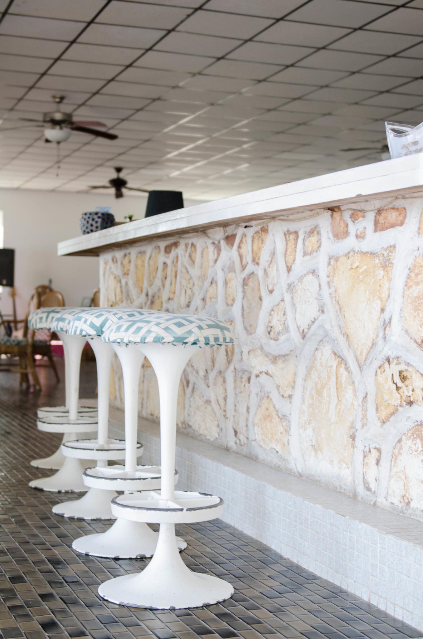 Die Bar im Hotel