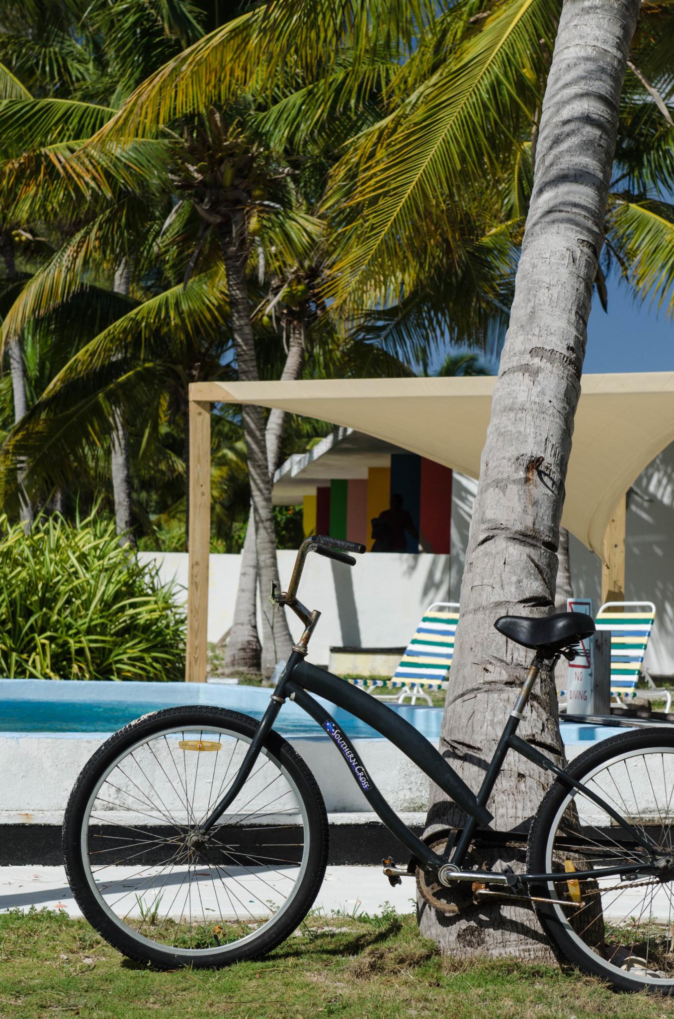 Fahrrad ausleihen im Greenwood Beach Hotel Bahamas