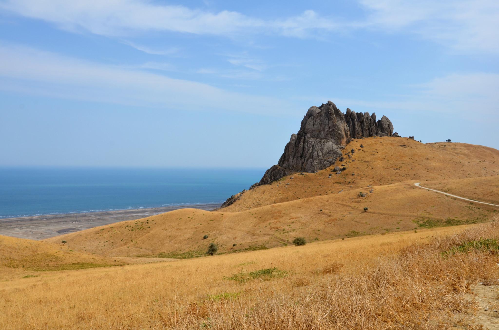 Zu den Aserbaidschan Sehenswürdigkeiten gehört auch der Berg Besh Barmag