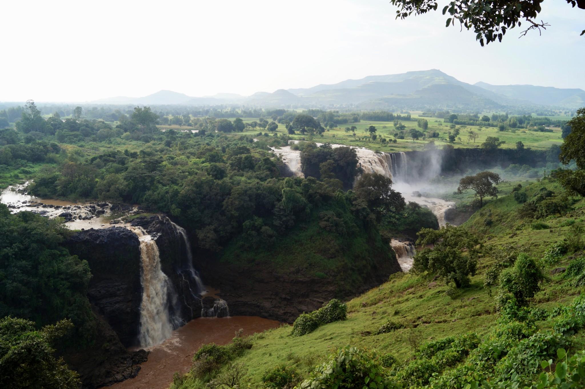 Tissisat Wasserfälle wichtige Highlights in Äthiopien