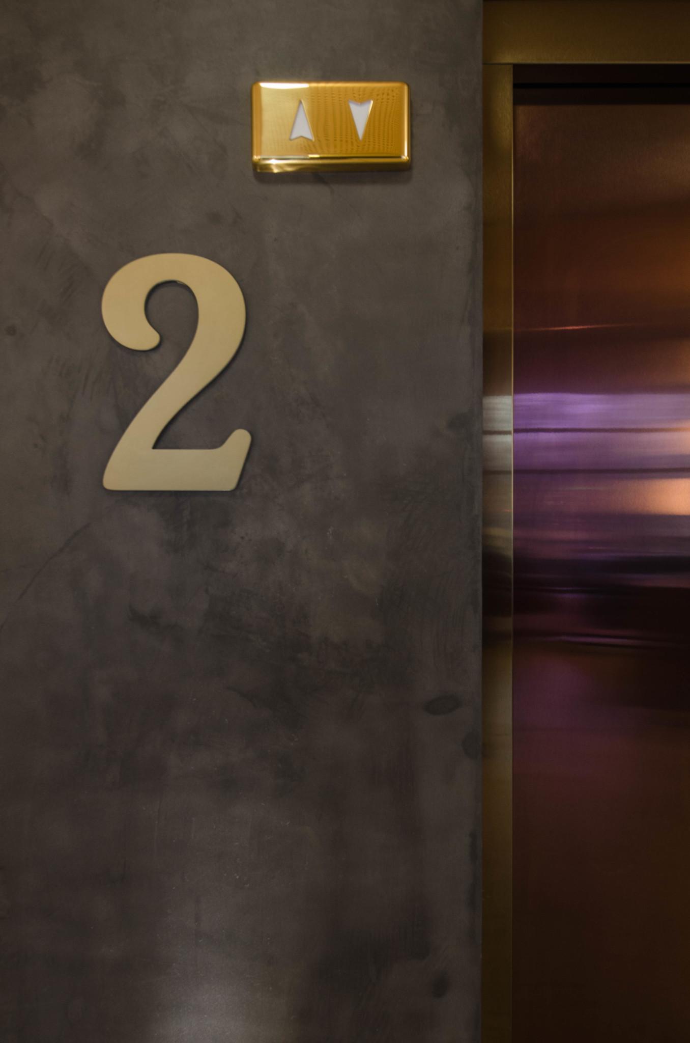 Fahrstuhl im Barcelo Hotel Madrid