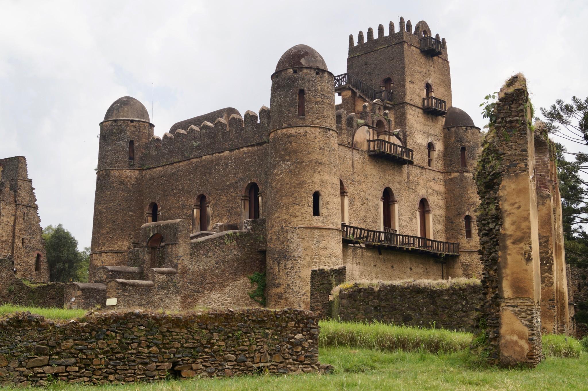 Fasilides Palast in Gondar ist definitiv eine der wichtigen Äthiopien Sehenswürdigkeiten