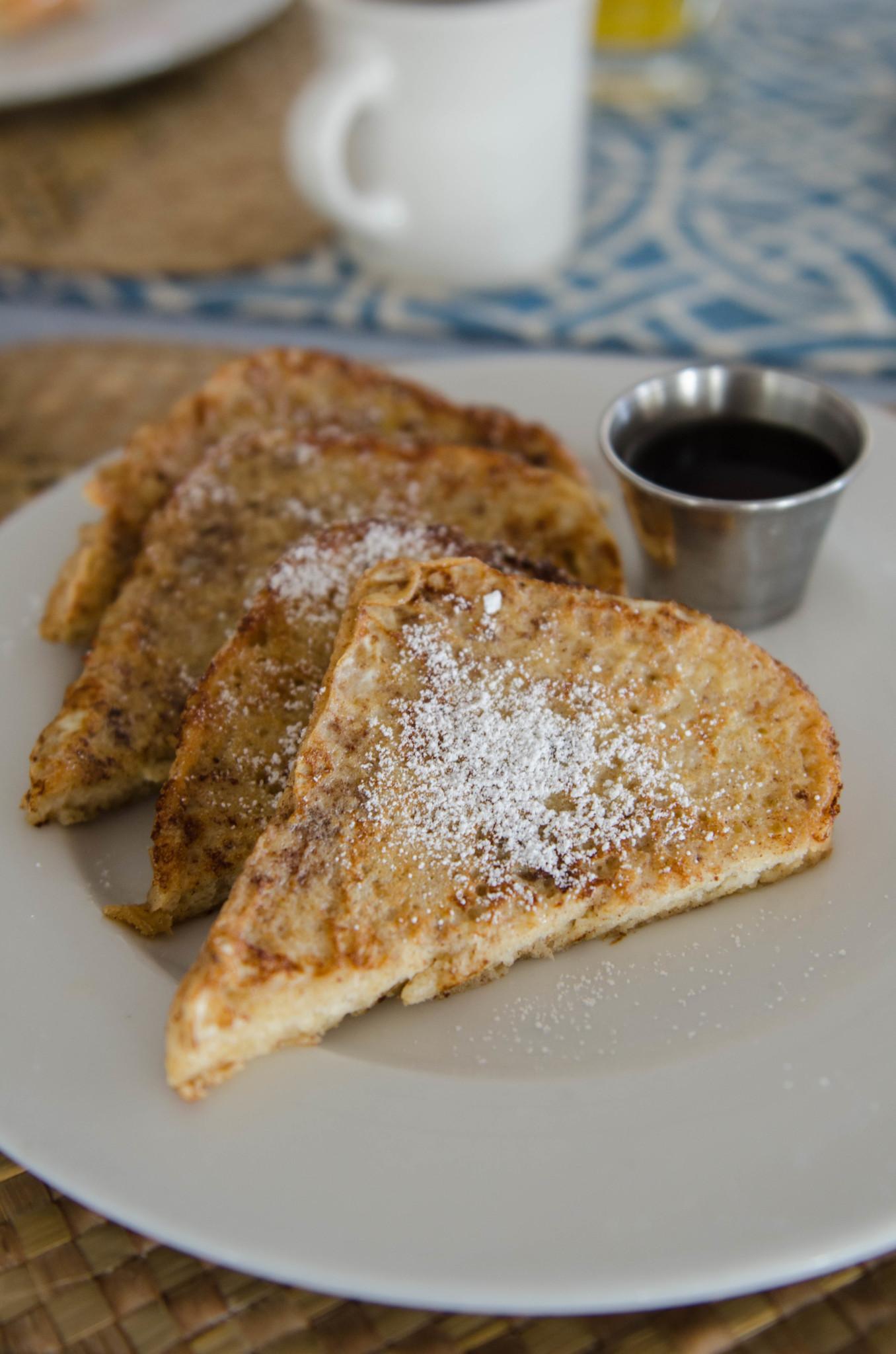 French Toast zum Frühstück auf Cat Island