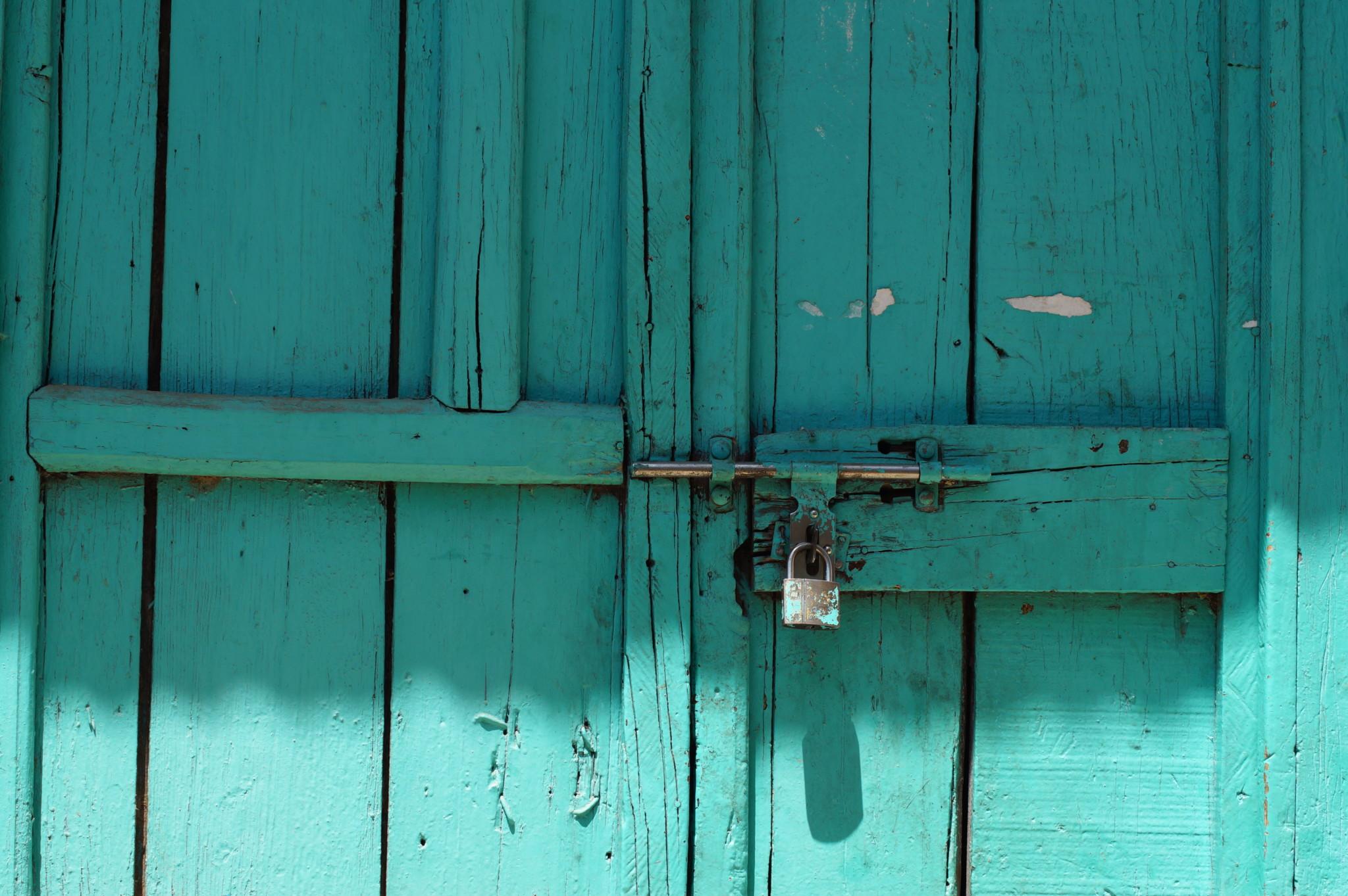 Bunte Wände und Türen sind das Merkmal von Harar in Äthiopien