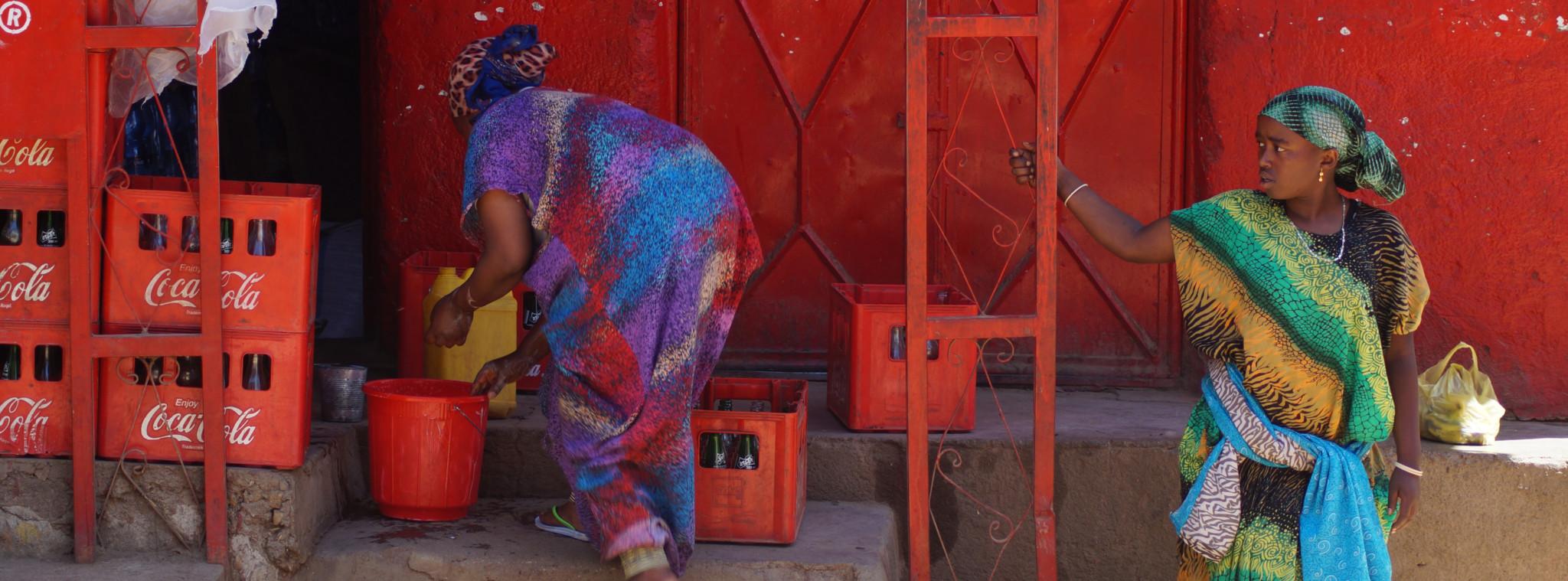 Marktverkäuferinnen in Harar