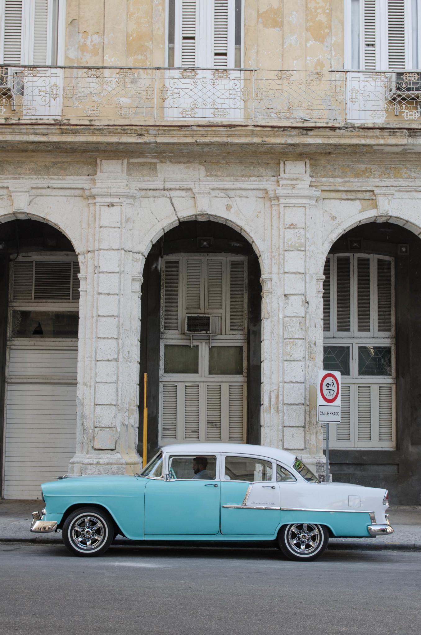 Oldtimer in Havannas Altstadt