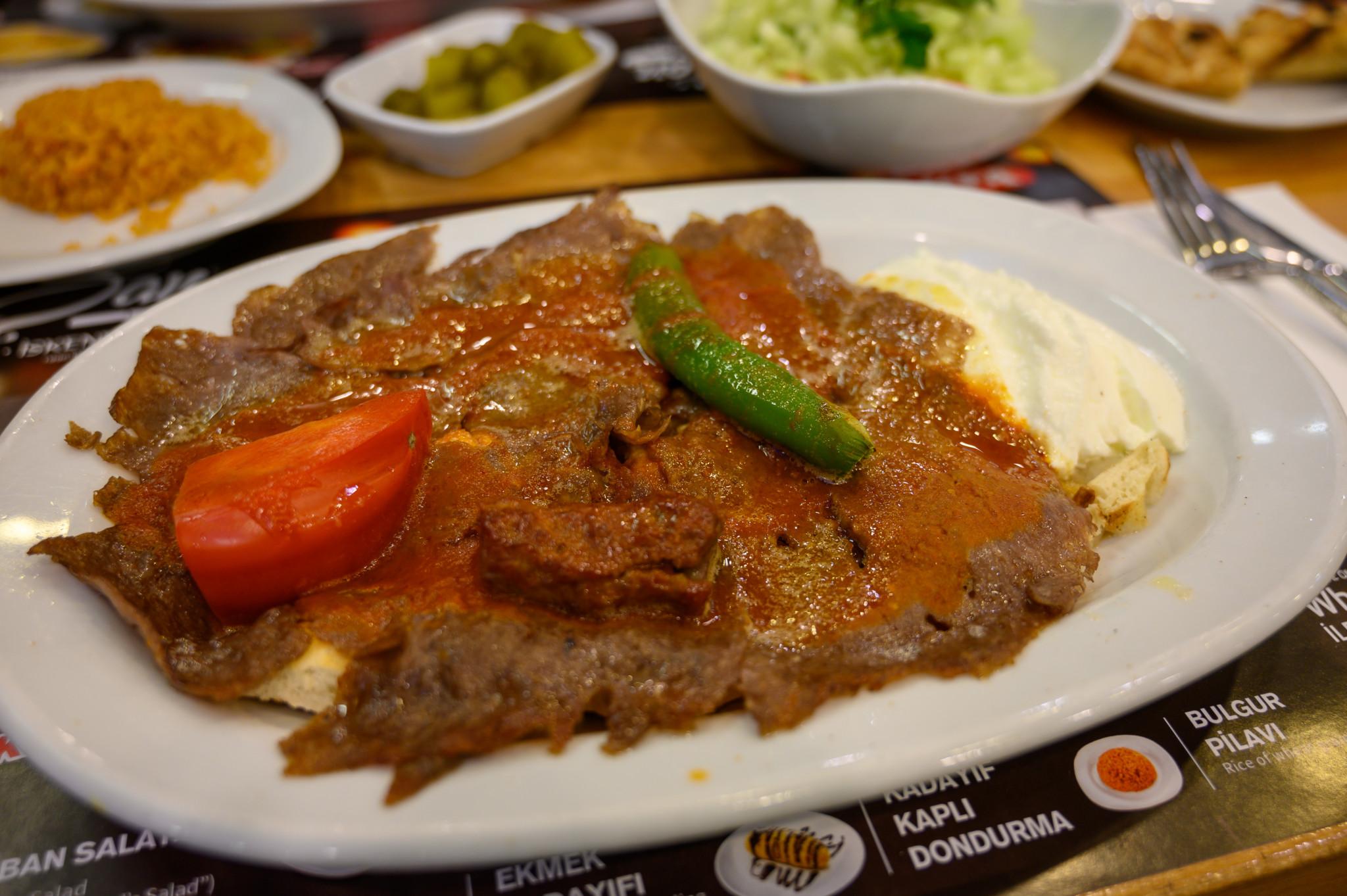 Iskendar Kebab in der Türkei