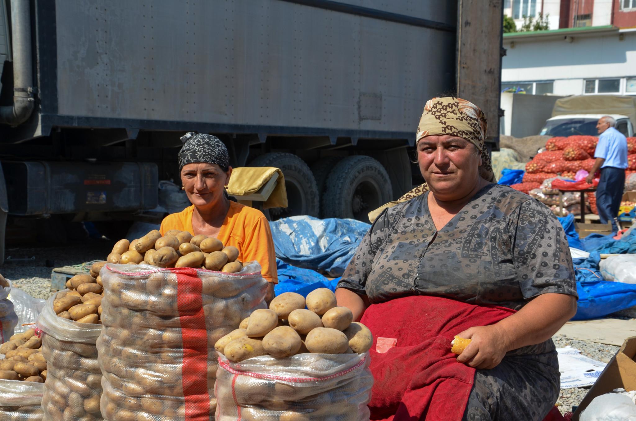Kartoffeln gehören zum Aserbaidschan Essen dazu