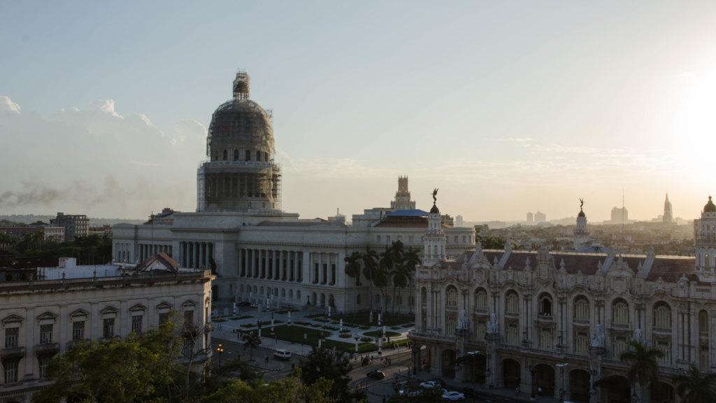 Dachterrasse Kempinski Aussicht Havanna