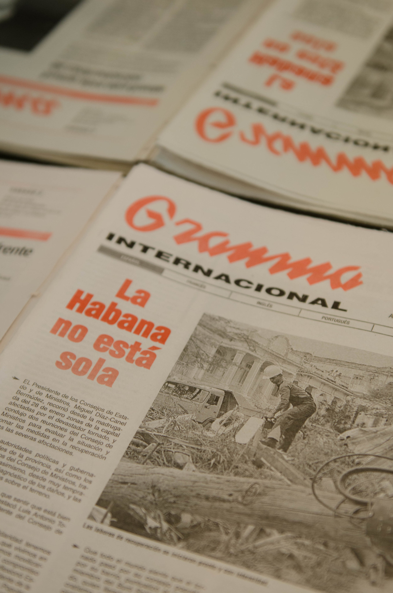 Zeitung Hotel Havanna