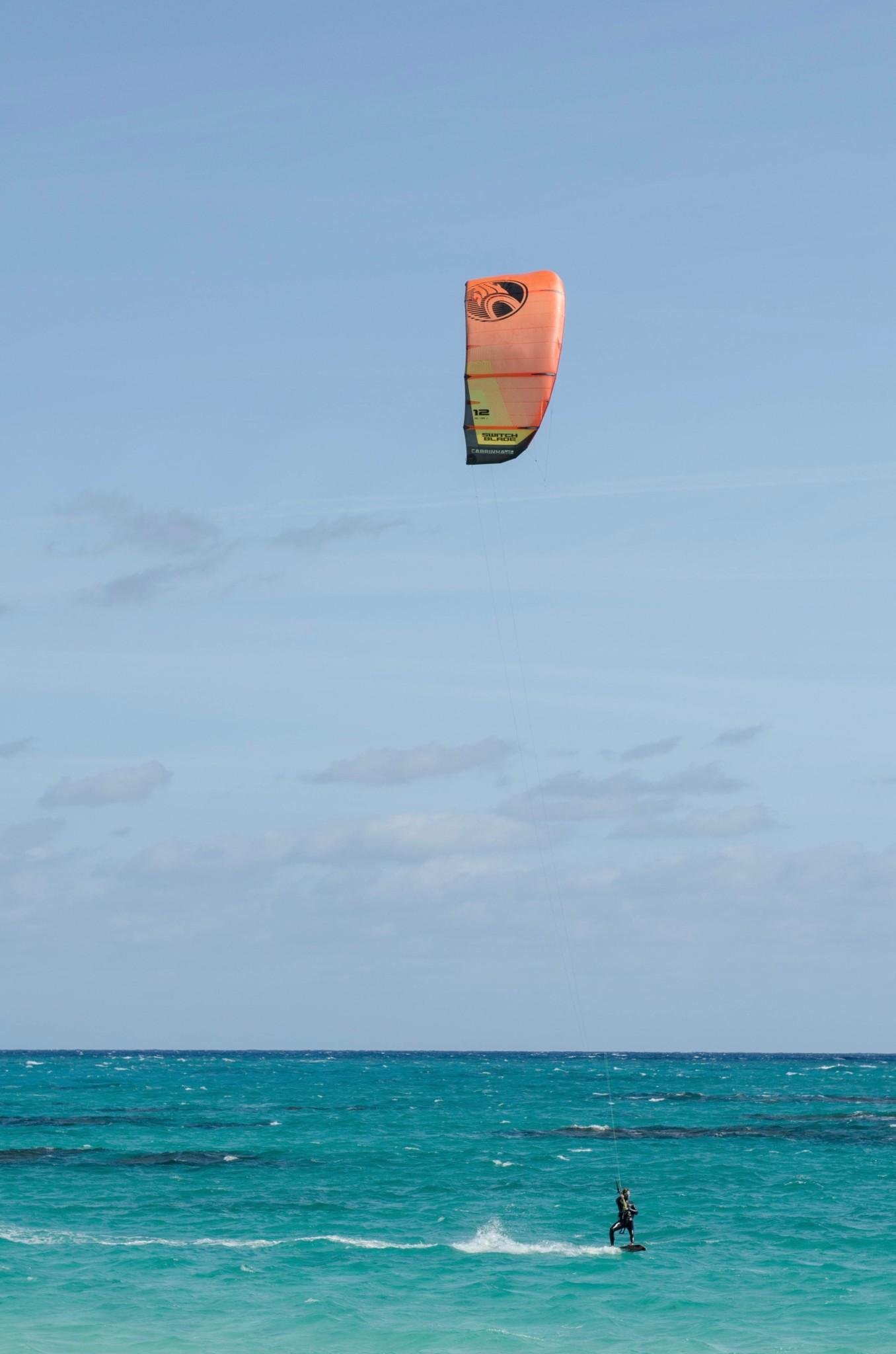 Kitesurfen im Greenwood Beach Hotel Bahamas