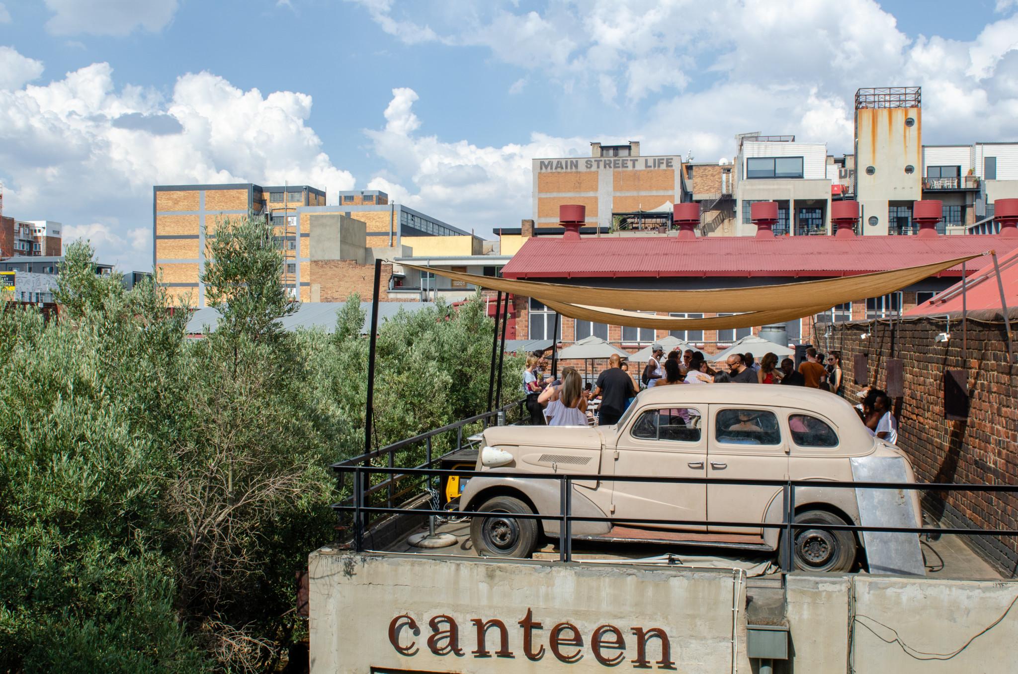 Der hippe Maboneng Bezirk von Johannesburg ist ein echter Geheimtipp