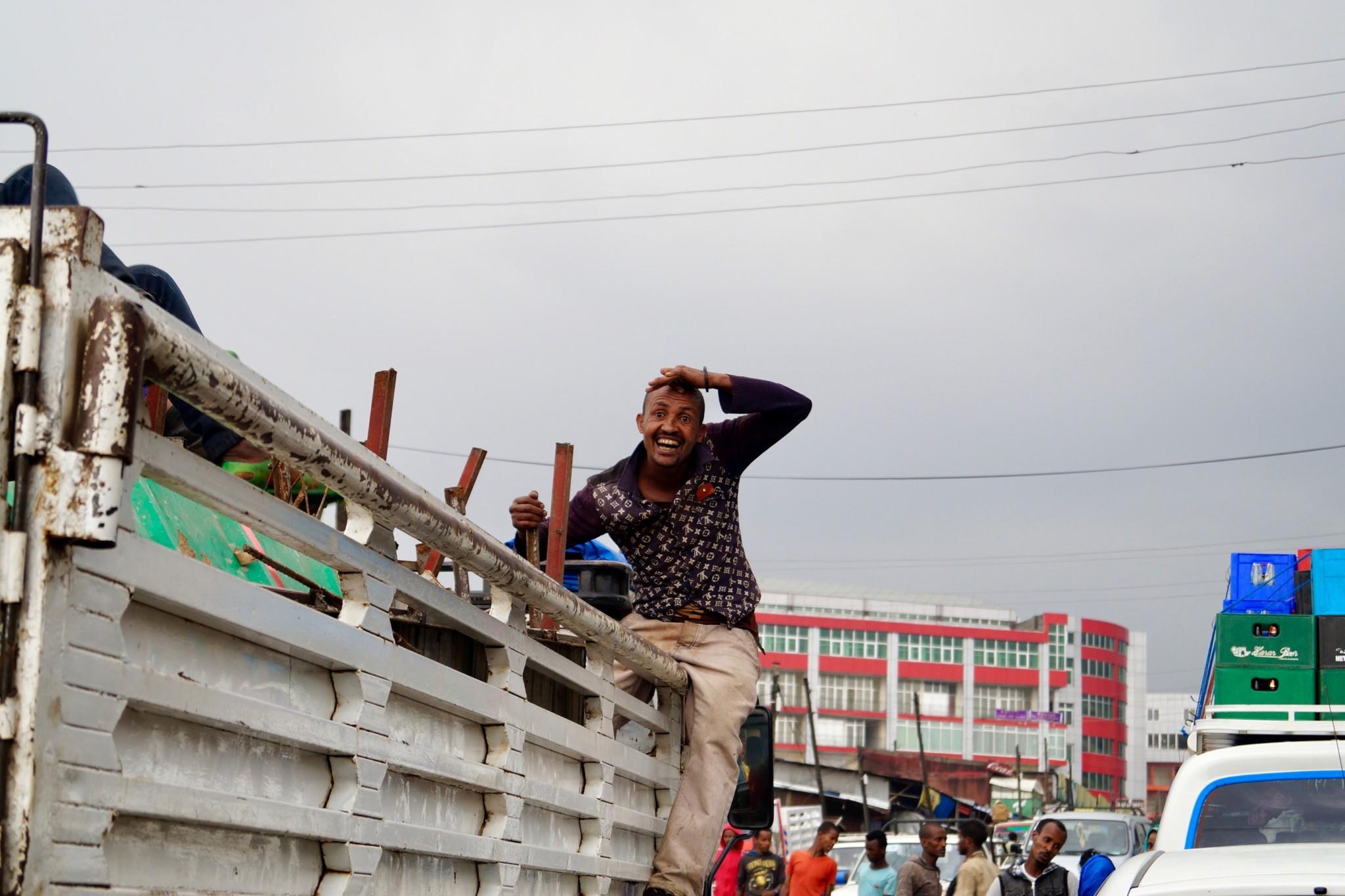 Mercado in Addis Abeba Äthiopien