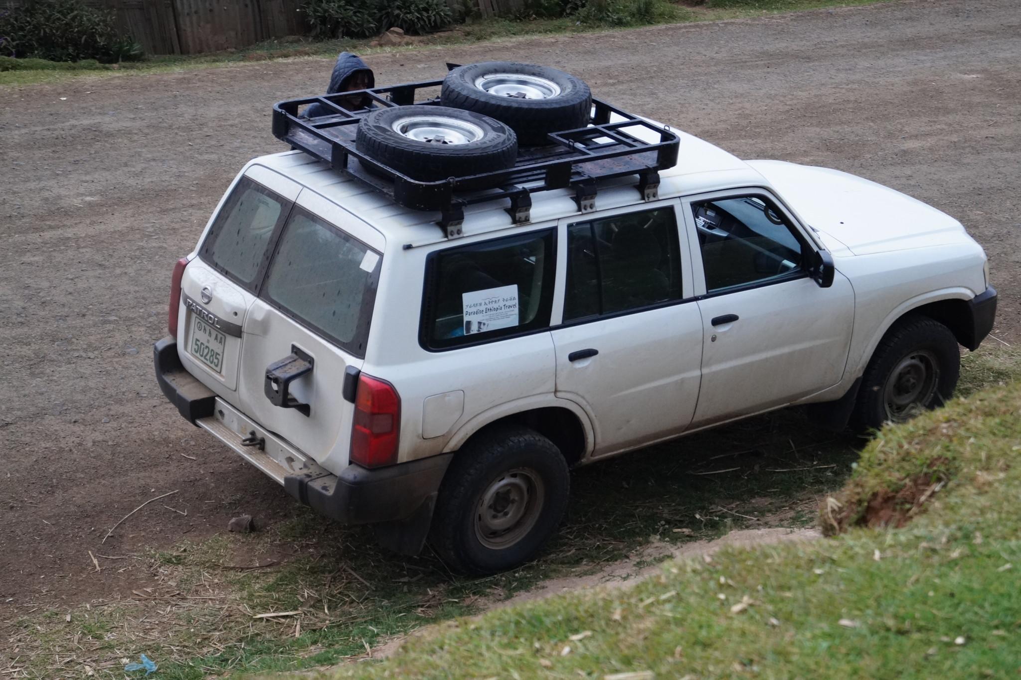 Mietwagen auf Äthiopien Reisen