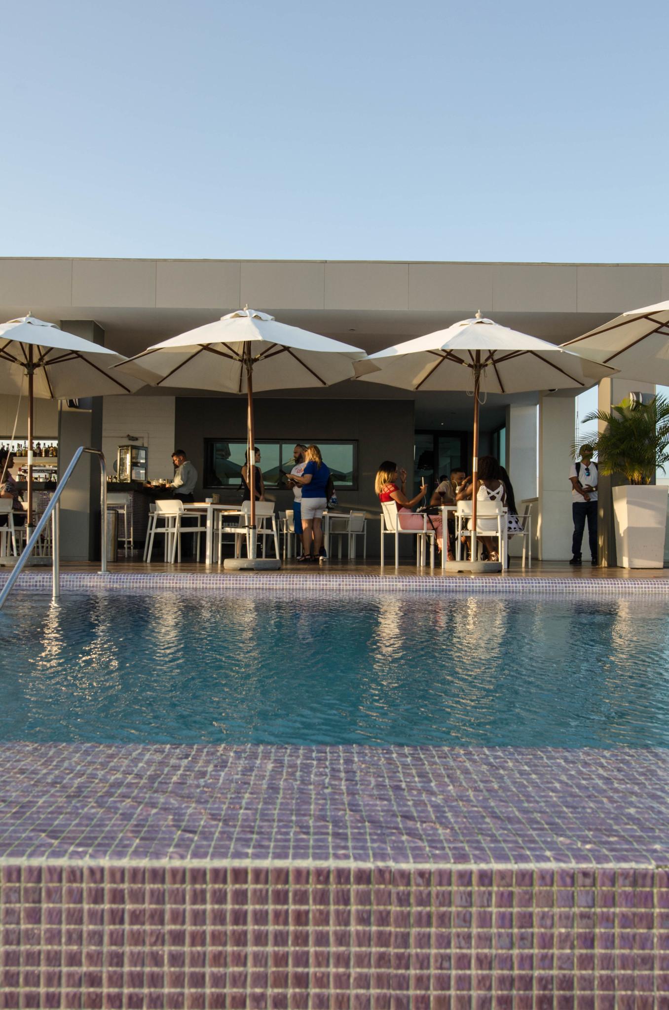 Pool auf Dachterrasse Kempinski Kuba