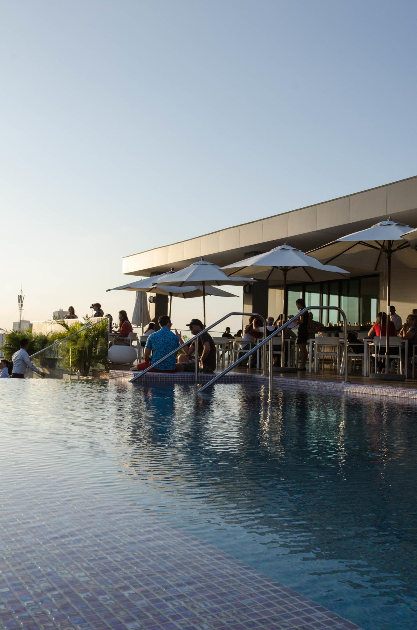 Kempinski Hotel Havanna Pool auf Dachterrasse