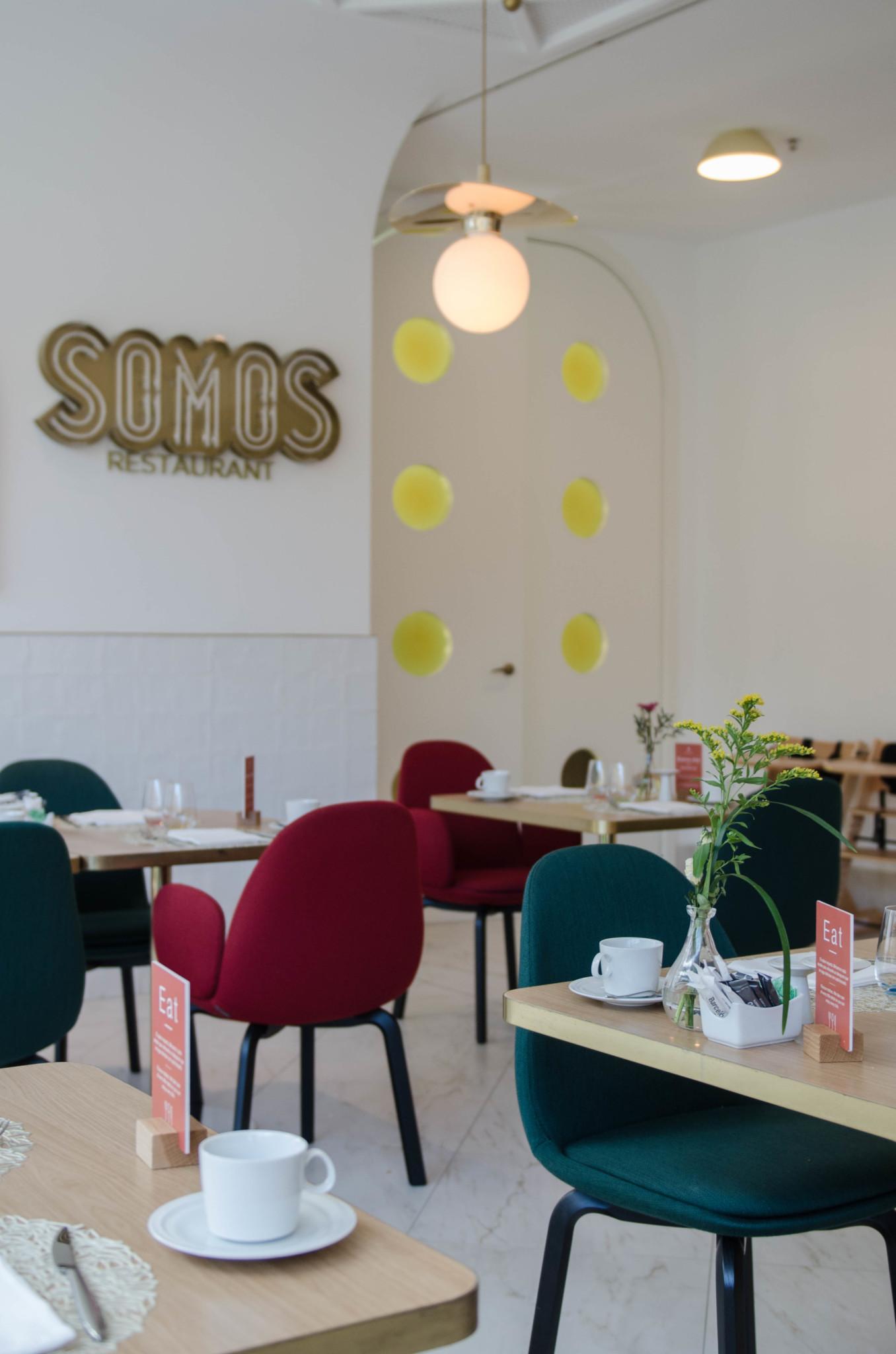Somos Restaurant Hotel Barcelo Madrid