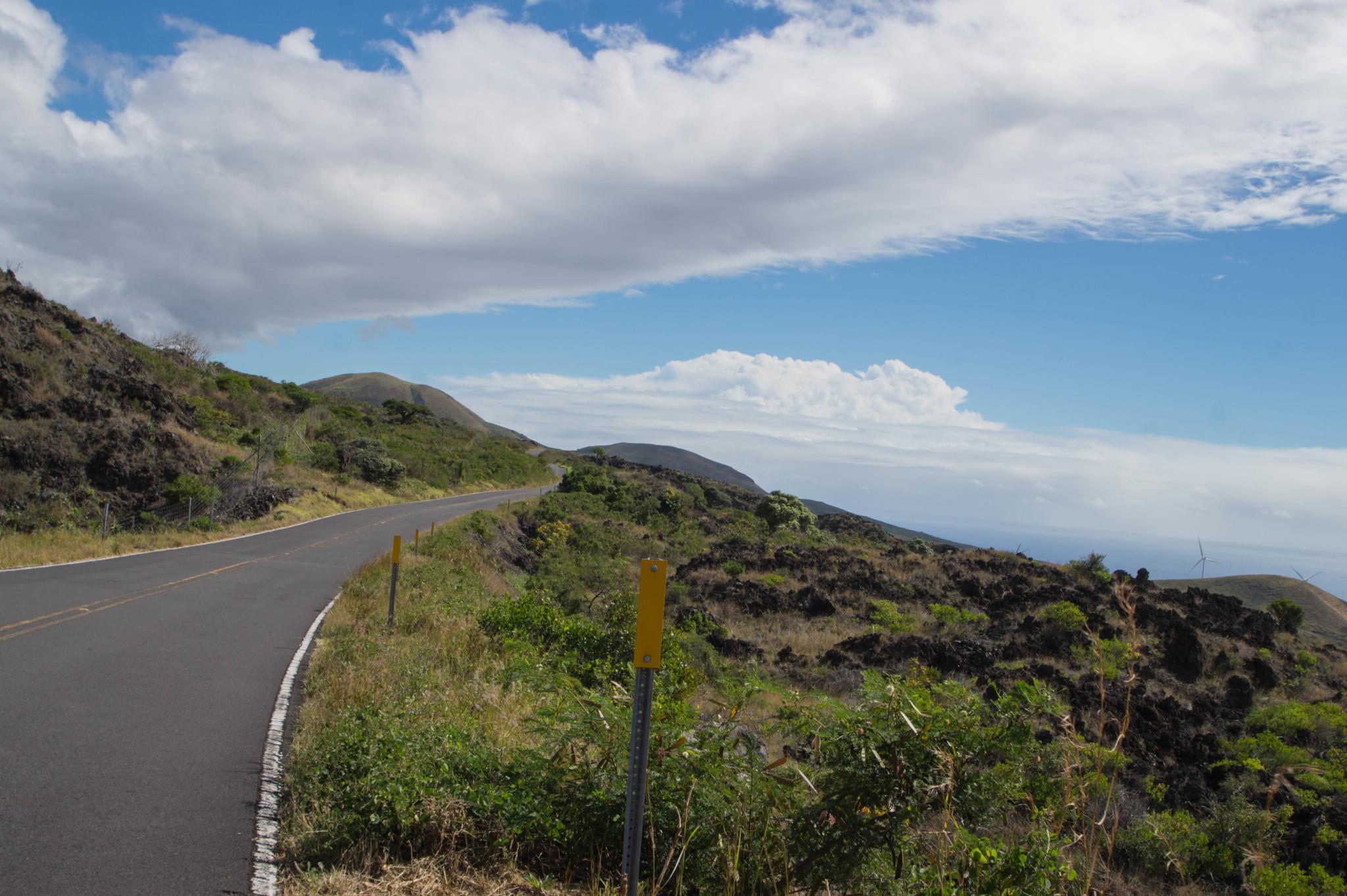 Die Straßen auf Hawaii sind für zum Auto mieten perfekt