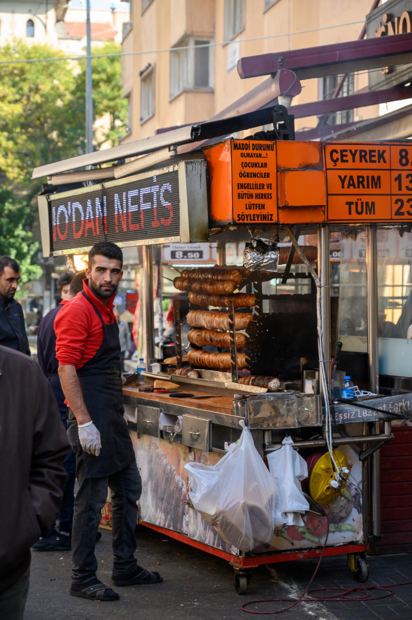Streetfood gehört zur türkischen Küche