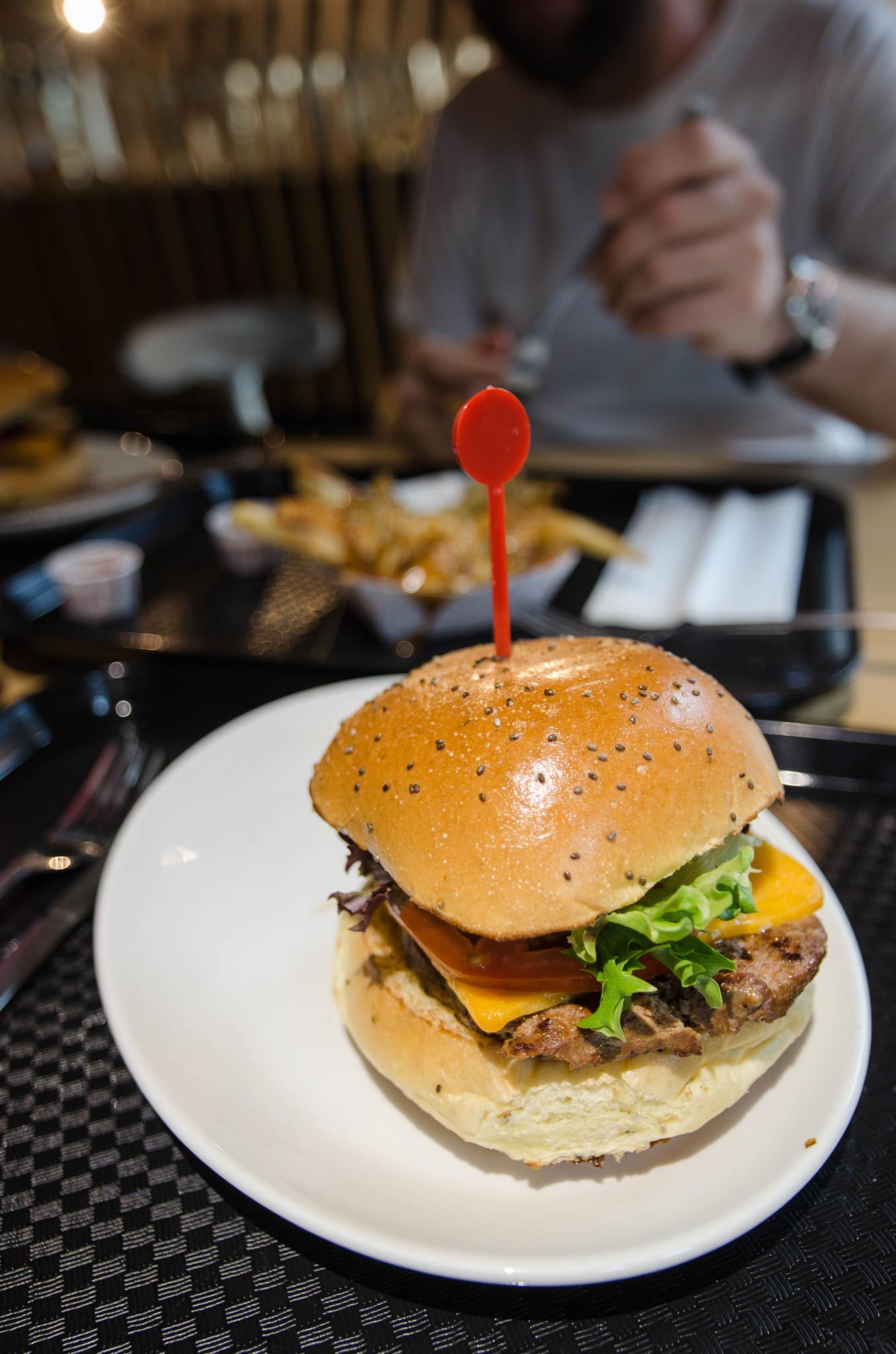 Burger in Winnipeg Manitoba