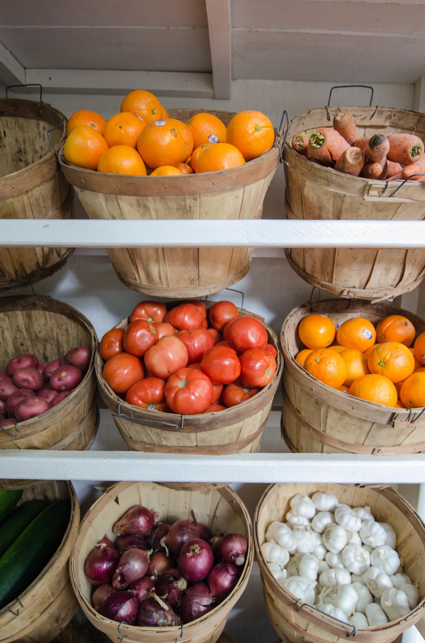 Obst im Farmland auf Eleuthera