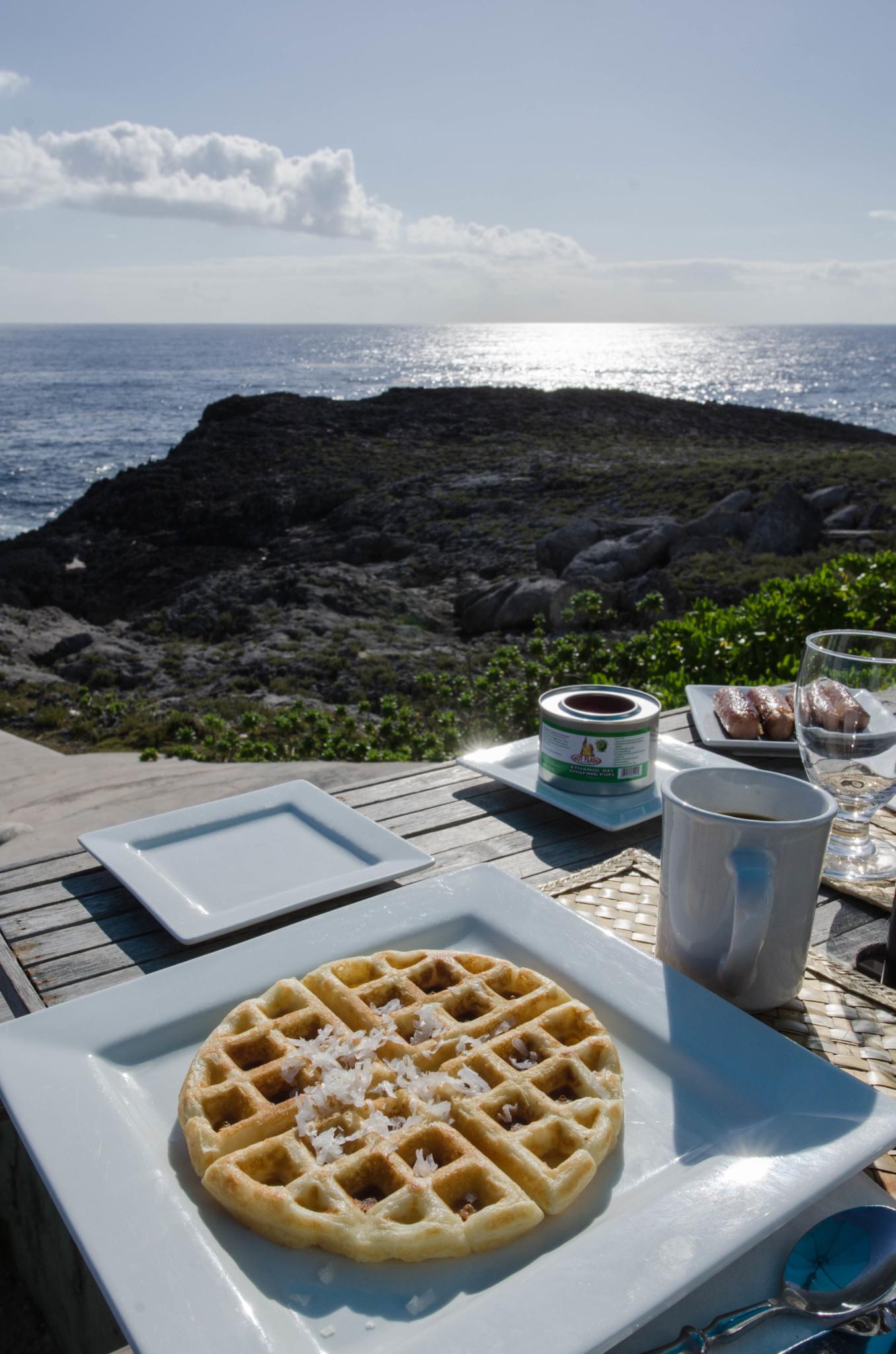 Frühstück im Hotel Ocean Tally