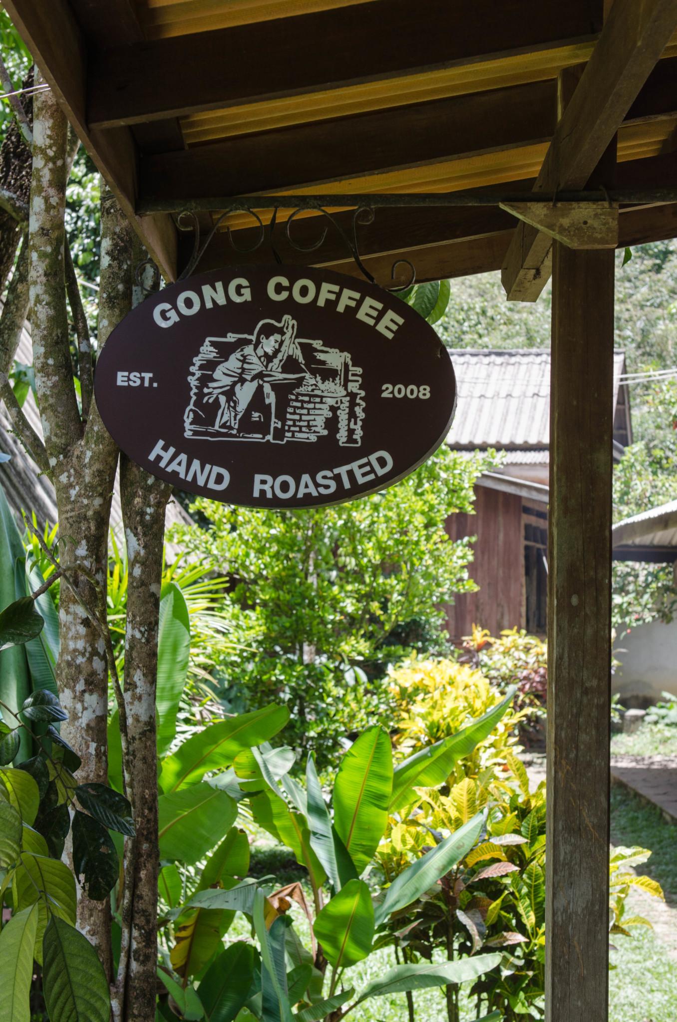 Kaffeefarm im Gong Valley