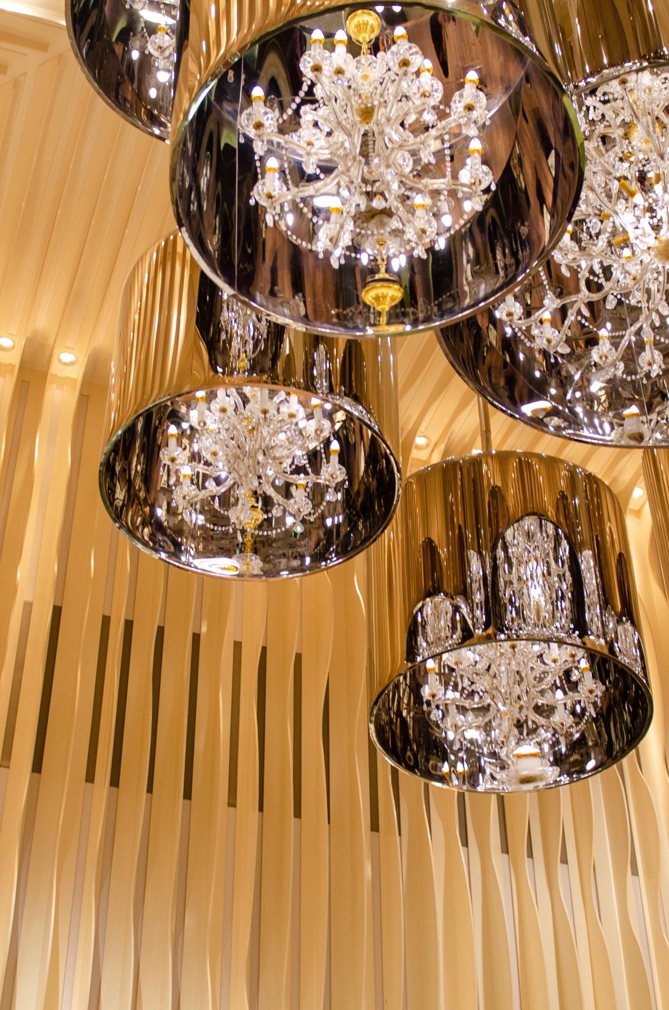 Dekoration im Hotel Mira Hongkong