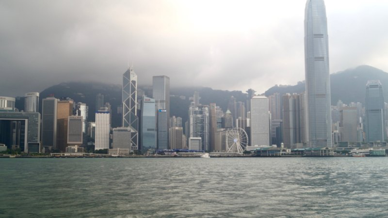 Sehenswürdigkeiten in Hongkong sieht man am besten von Kowloon aus