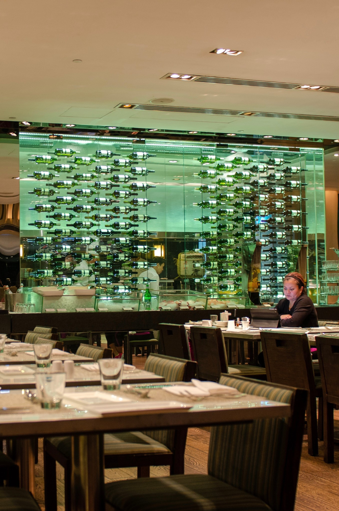 Restaurant im Hotel Mira in Hongkong