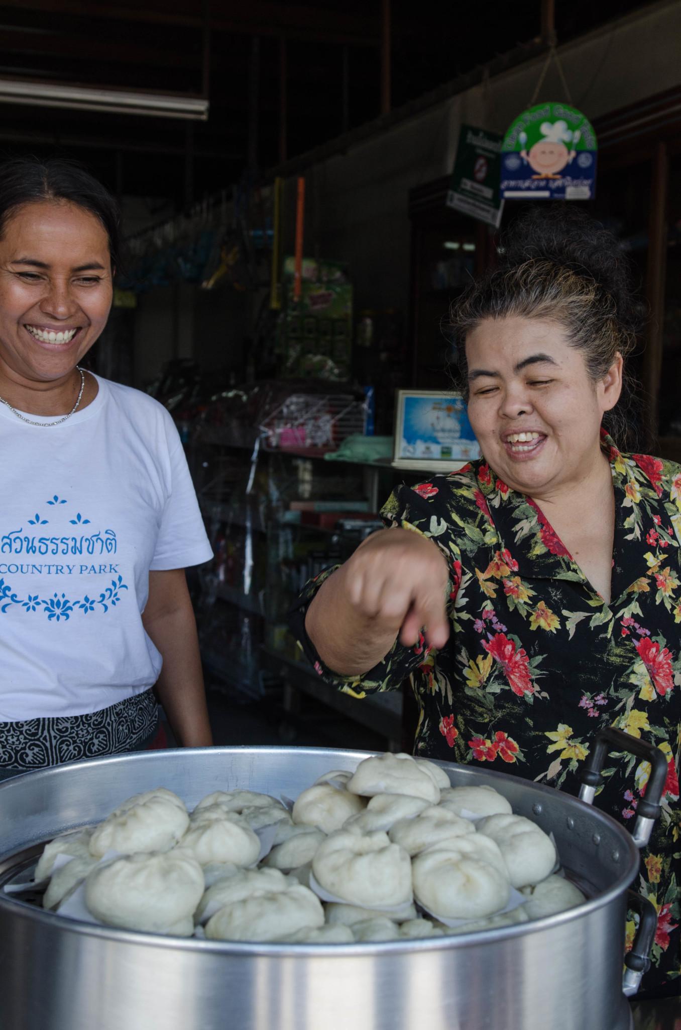 Streetfood mit chinesischem Einfluss in Ranong