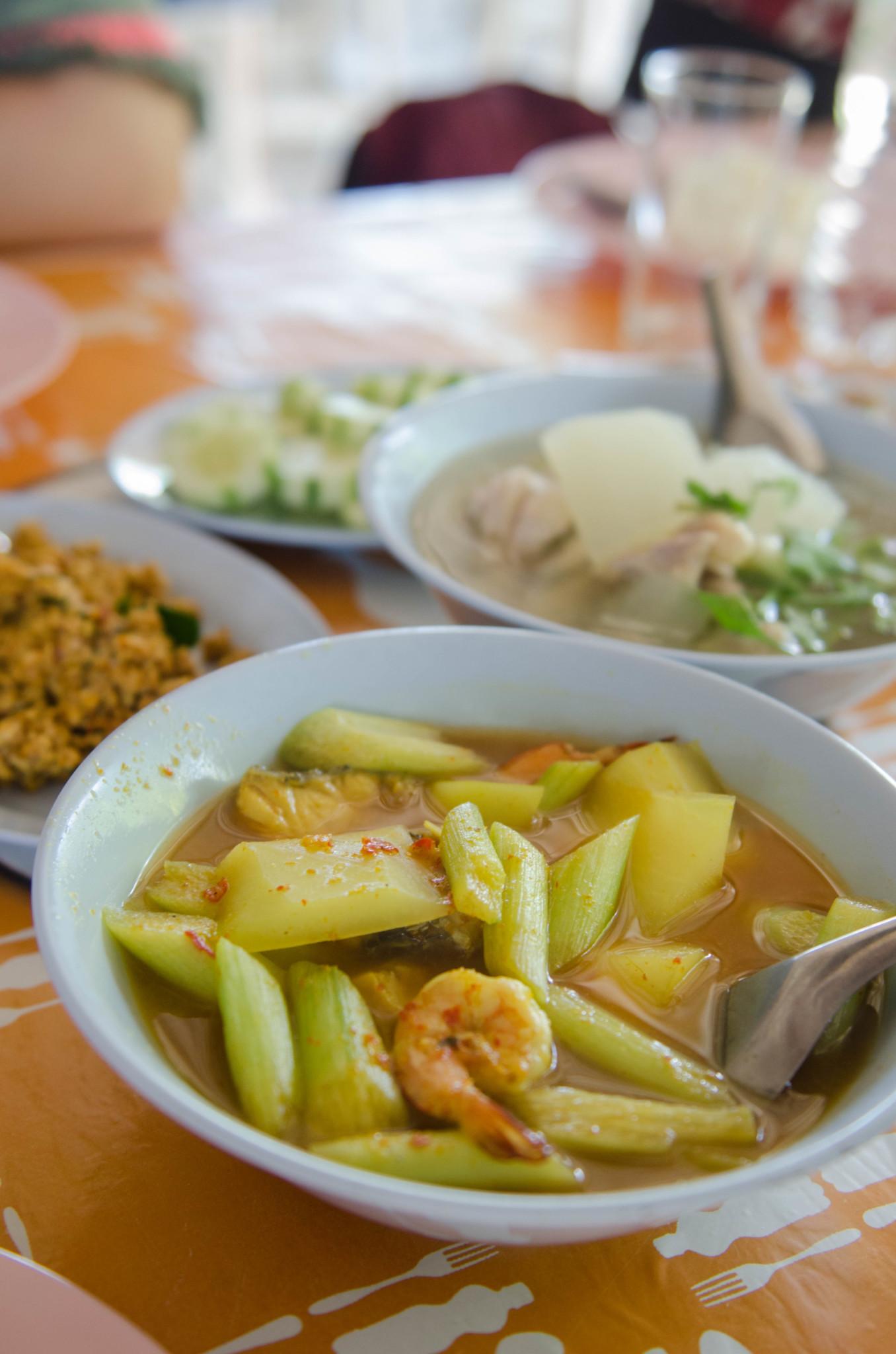 Eintopf in einem Restaurant in Ranong