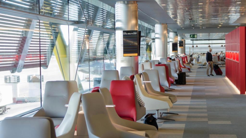 Iberia Business Class Lounge